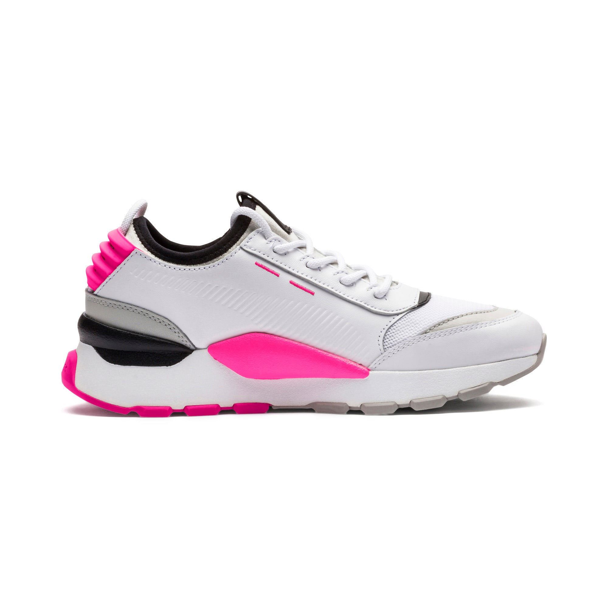Thumbnail 6 of Evolution RS-0 SOUND Trainers, Wht-GrayViolet-KNOCKOUTPINK, medium-IND