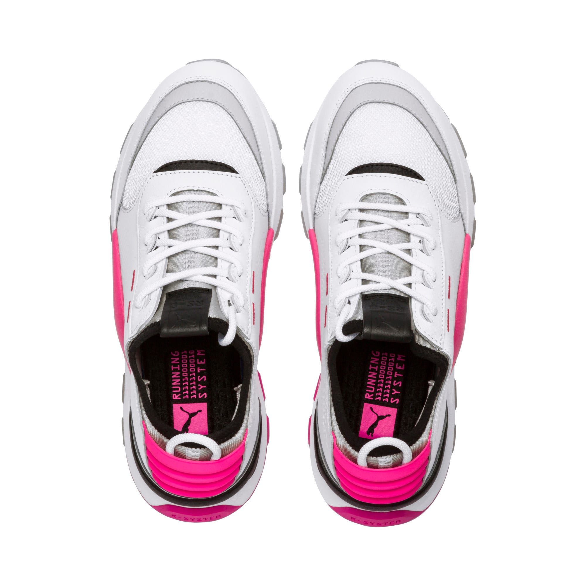 Thumbnail 7 of Evolution RS-0 SOUND Trainers, Wht-GrayViolet-KNOCKOUTPINK, medium-IND