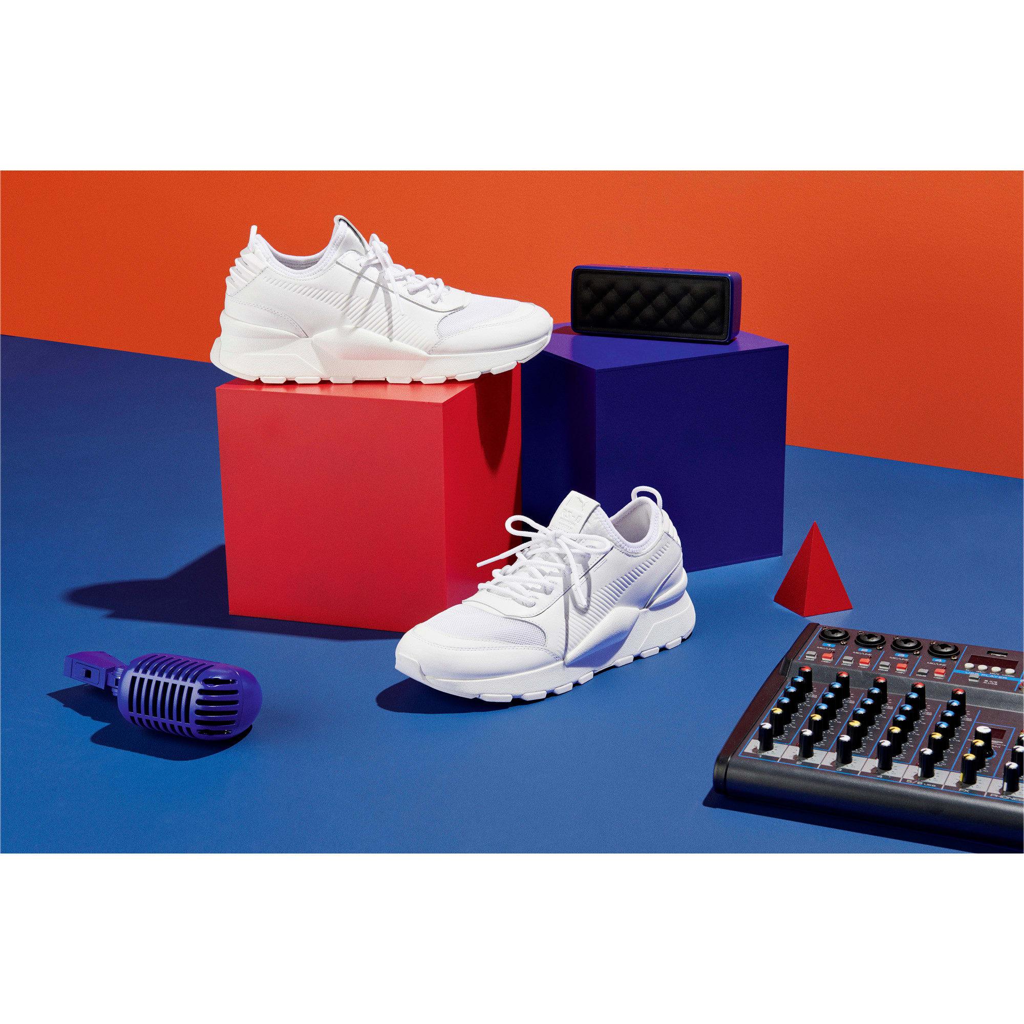 Thumbnail 7 of Evolution RS-0 SOUND sneakers, Puma White, medium