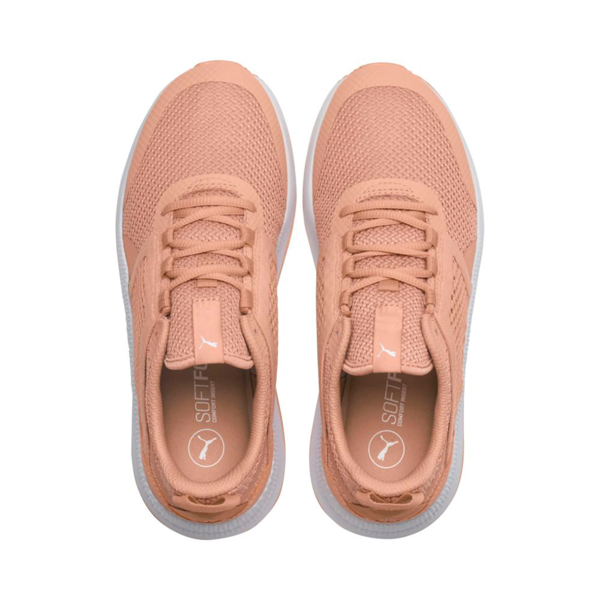 Thumbnail 3 of Pacer Next Net Trainers, Dusty Coral-Coral-White, medium-IND
