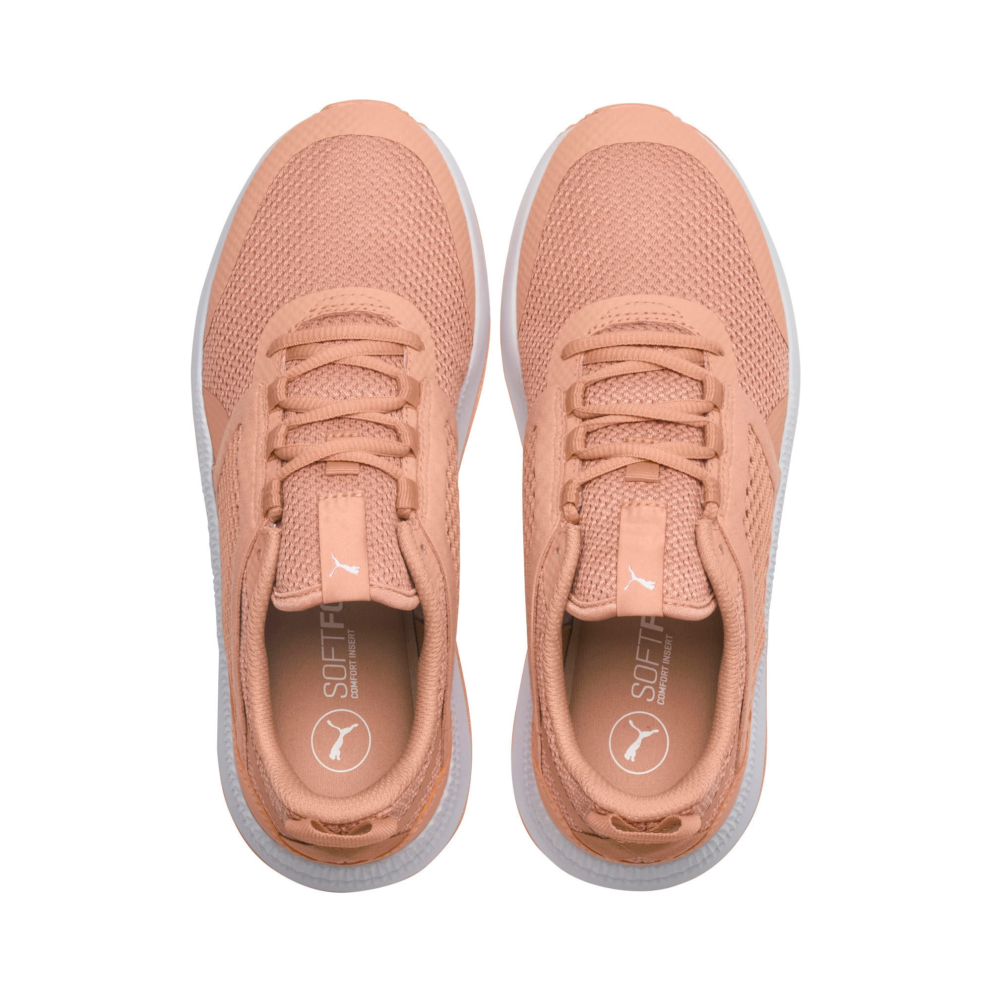 Thumbnail 6 of Pacer Next Net Trainers, Dusty Coral-Coral-White, medium-IND
