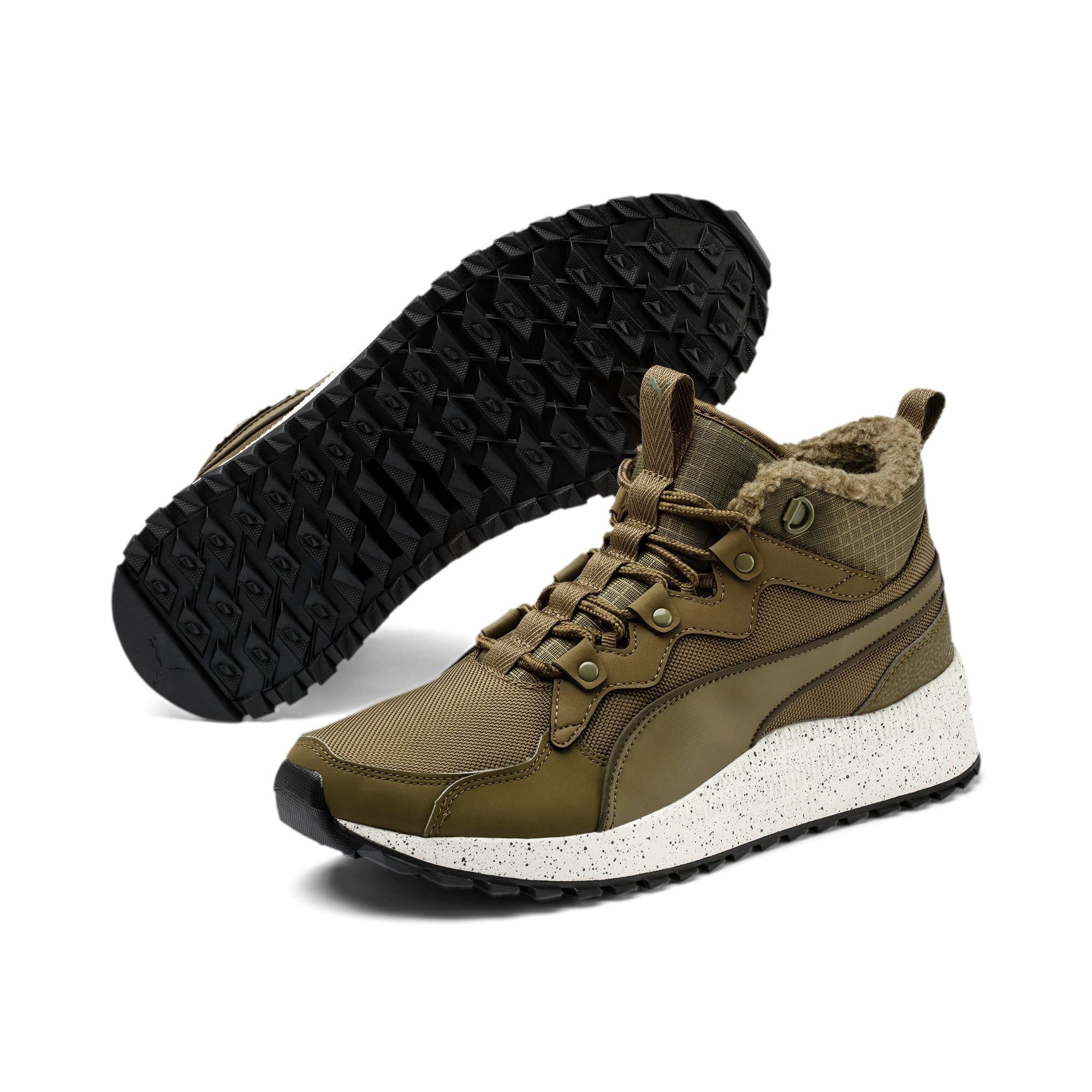Thumbnail 2 of Pacer Next Winterized Sneakerboots, Burnt Olive-Forest Night, medium
