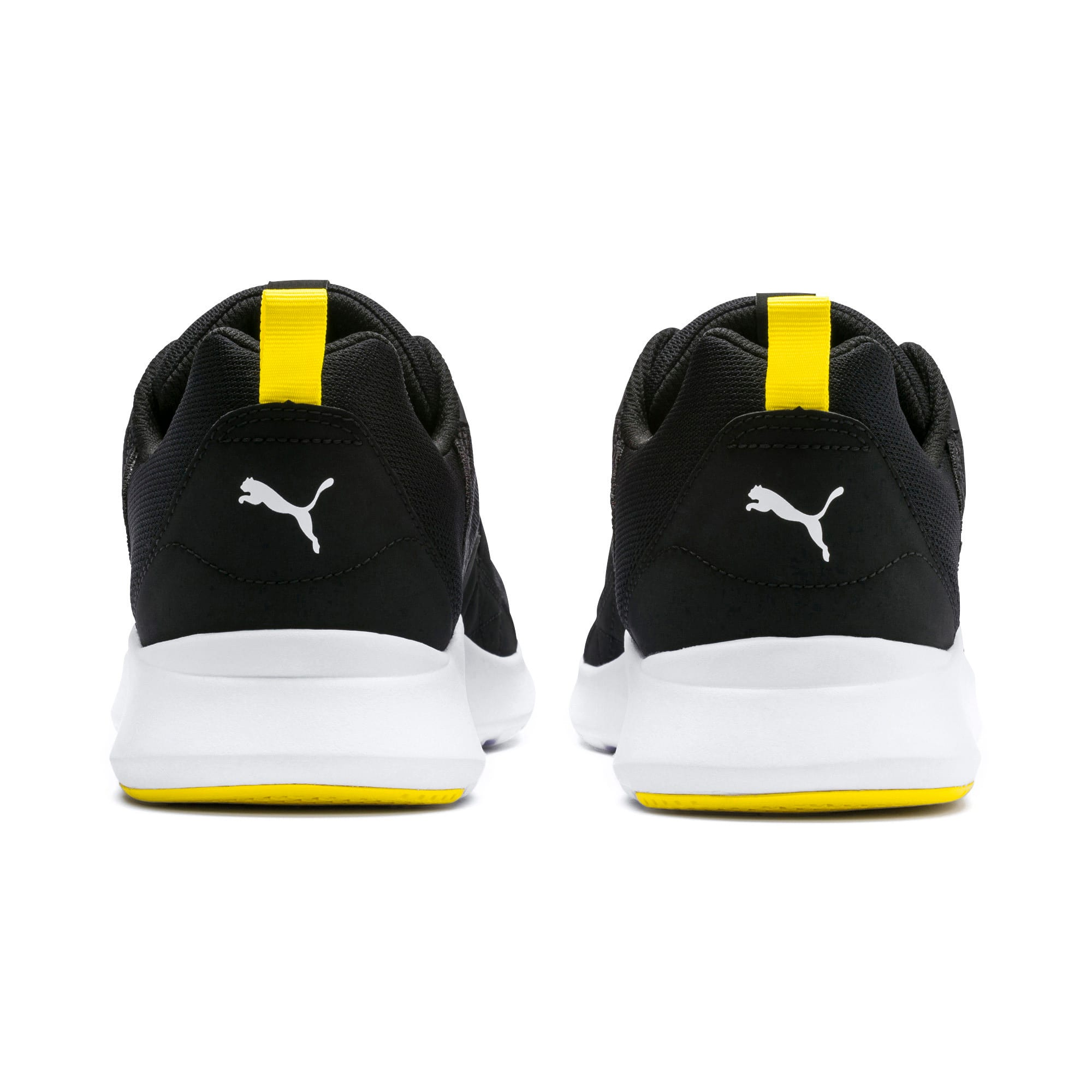 Thumbnail 3 of Wired Trainers, Puma Black-Blazing Yellow, medium-IND