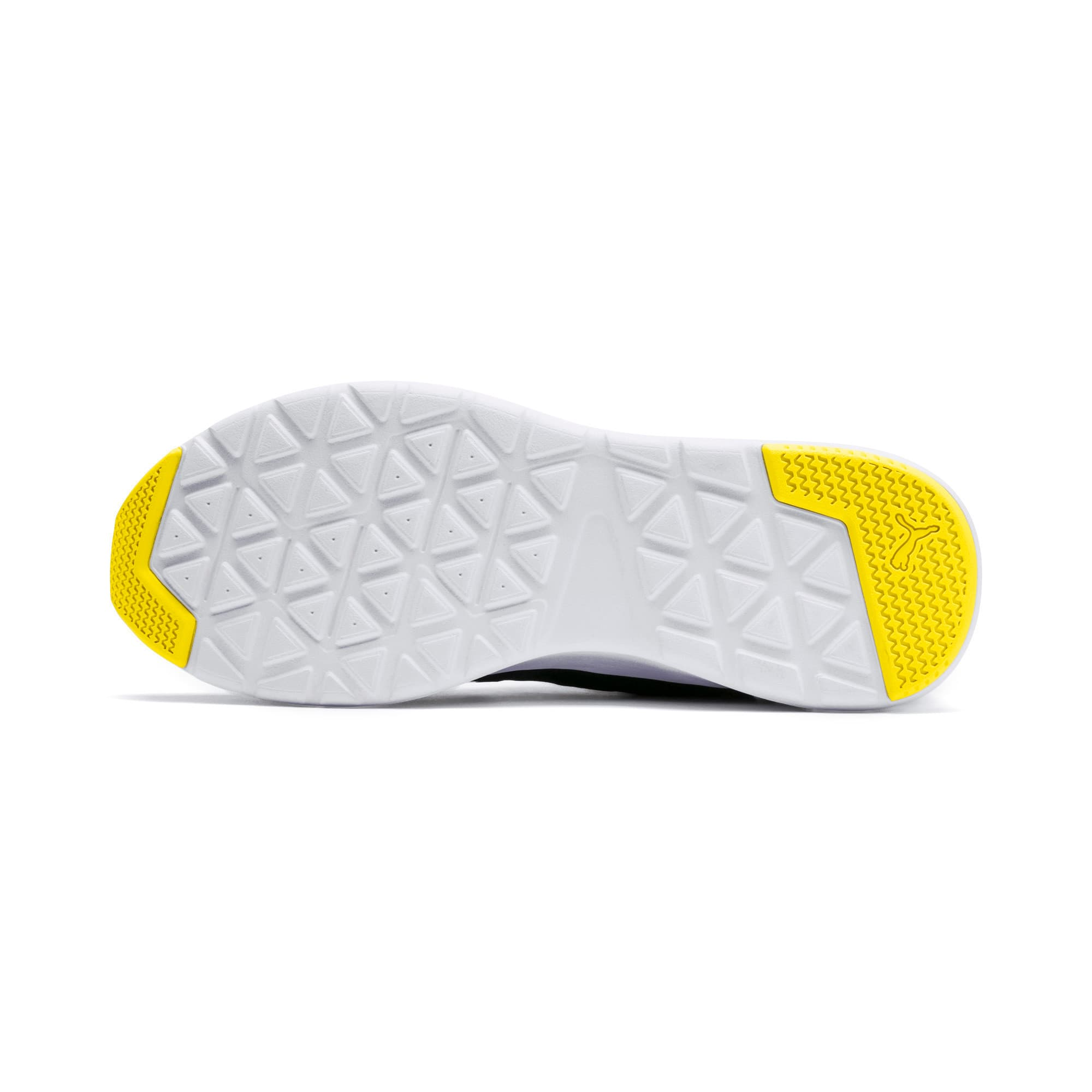 Thumbnail 4 of Wired Trainers, Puma Black-Blazing Yellow, medium-IND