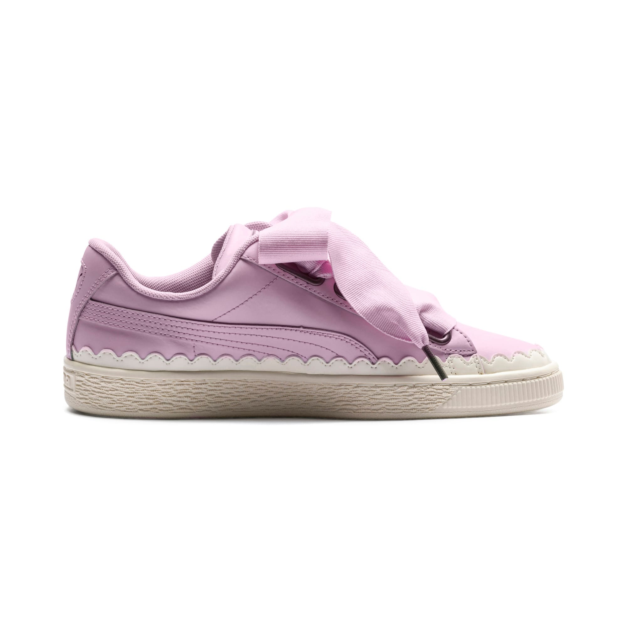 Thumbnail 5 of Basket Heart Scallop Women's Trainers, Winsome Orchid, medium-IND