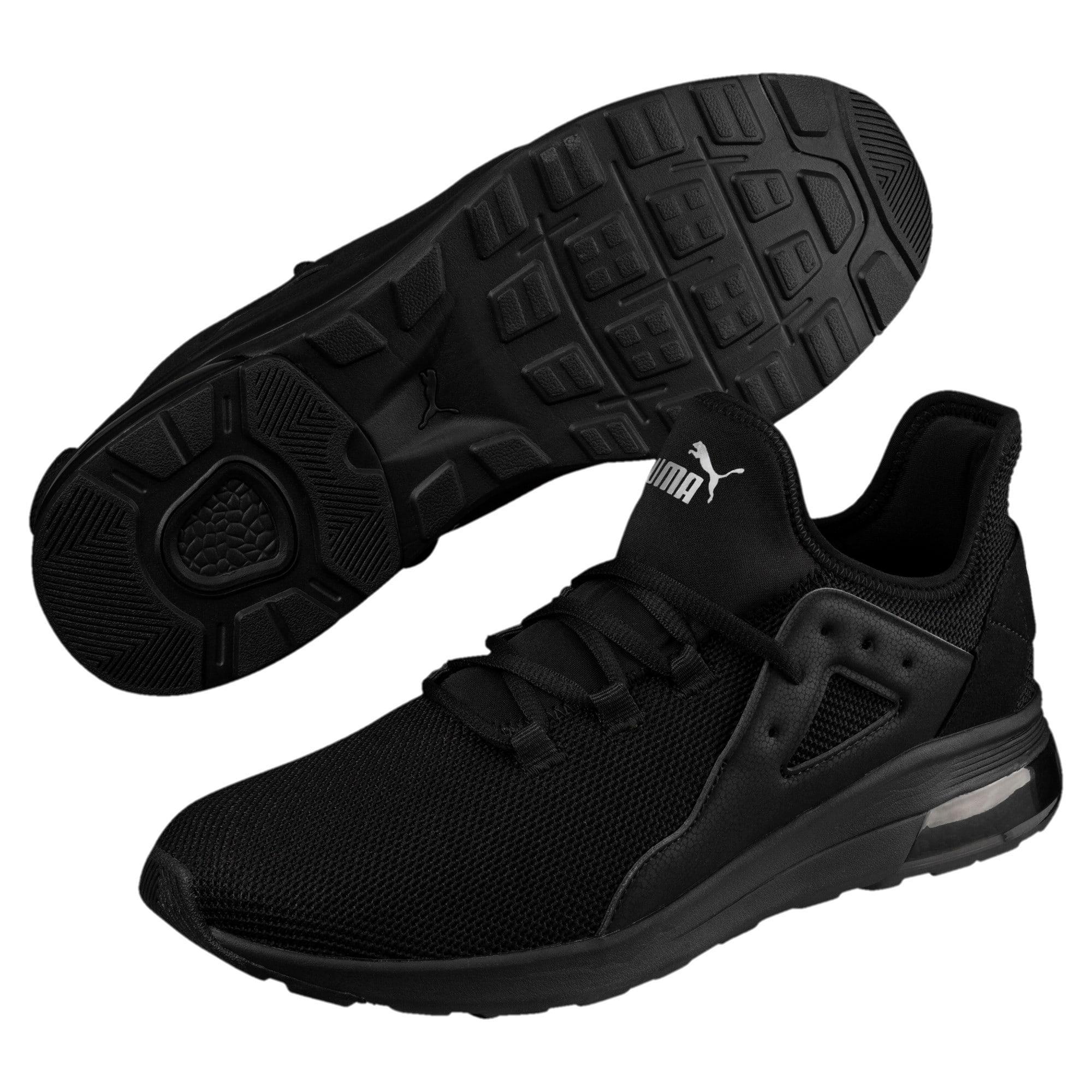 Thumbnail 6 of Electron Street Trainers, Puma Black-Puma Black-Black, medium-IND