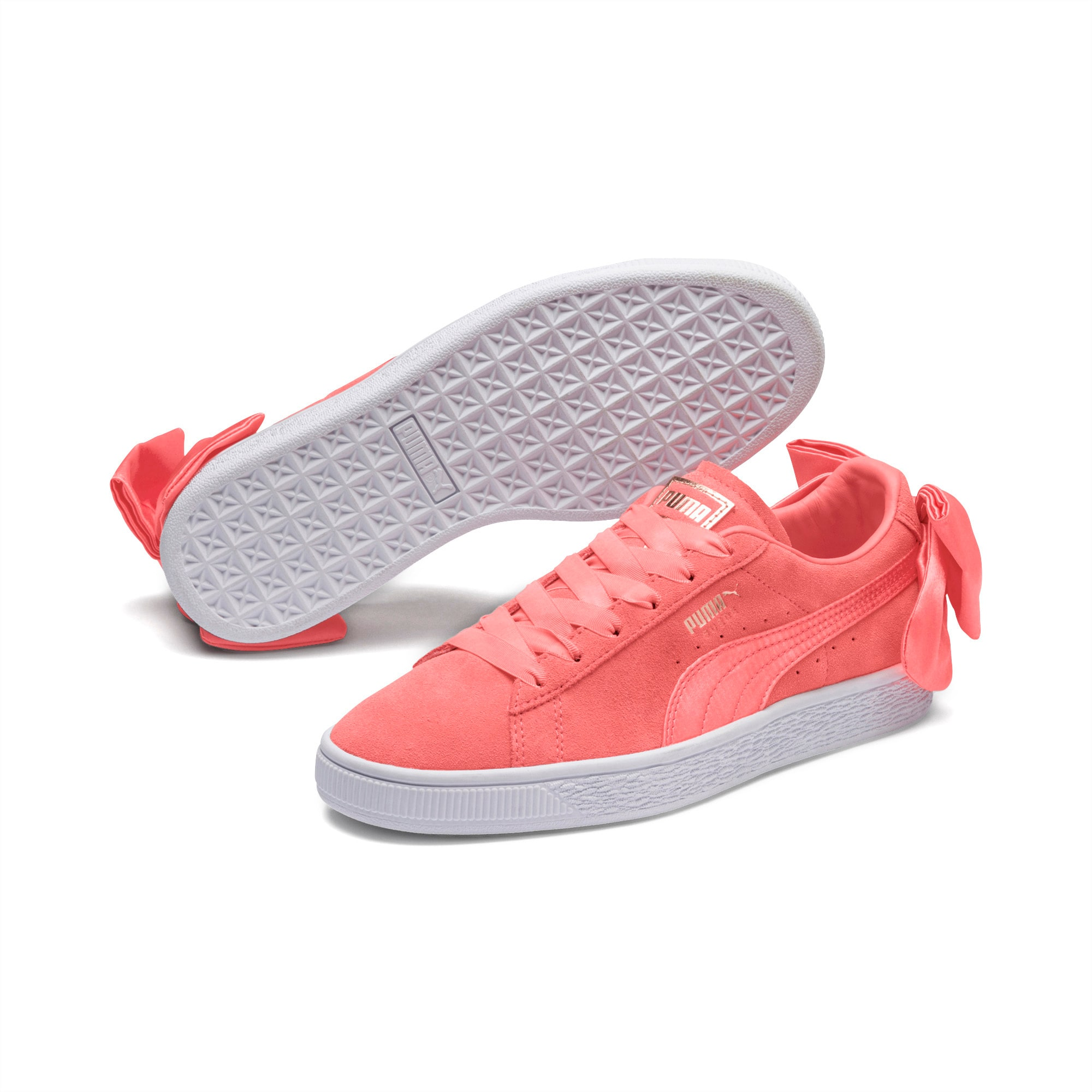 7.5 UK Pearl-Pearl PUMA Women/'s Basket Bow WNs Trainers