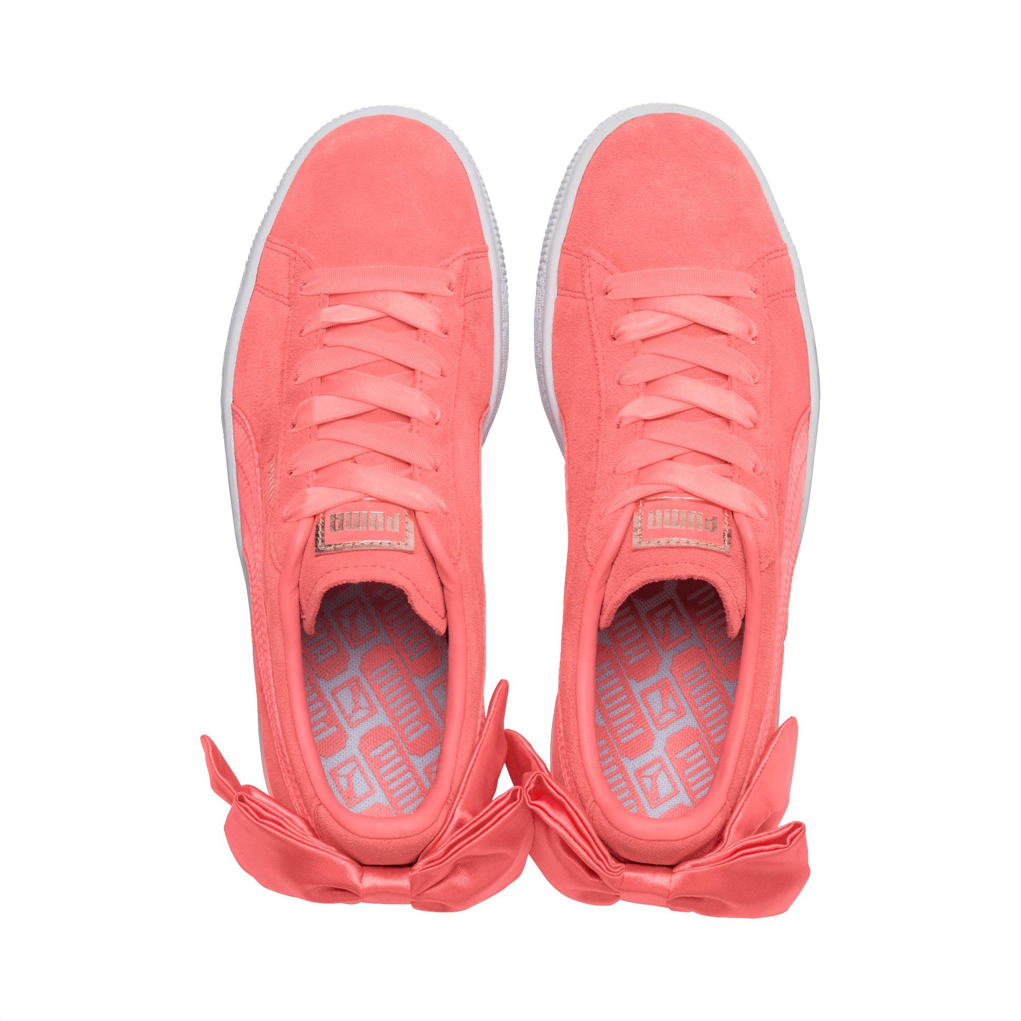 chaussure puma noeud derriere