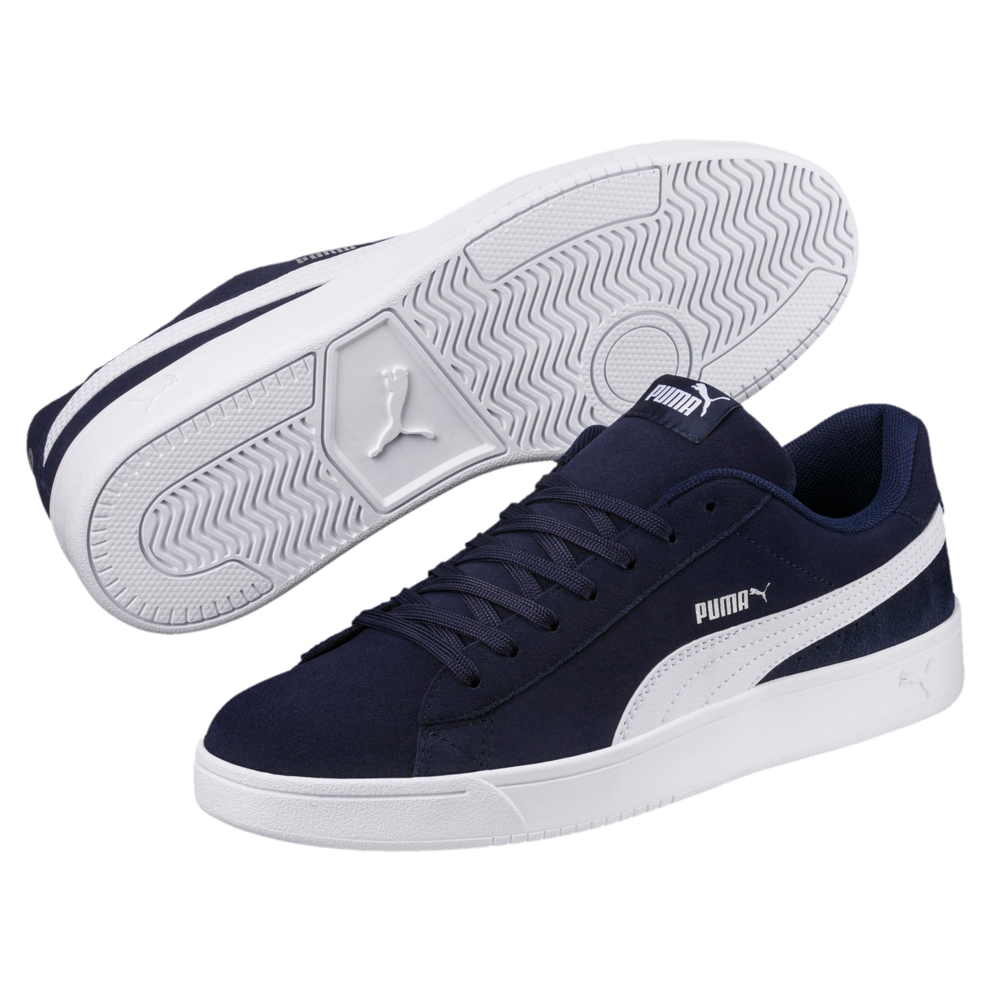 Thumbnail 6 of Court Breaker Derby Trainers, Peacoat-Puma White, medium-IND