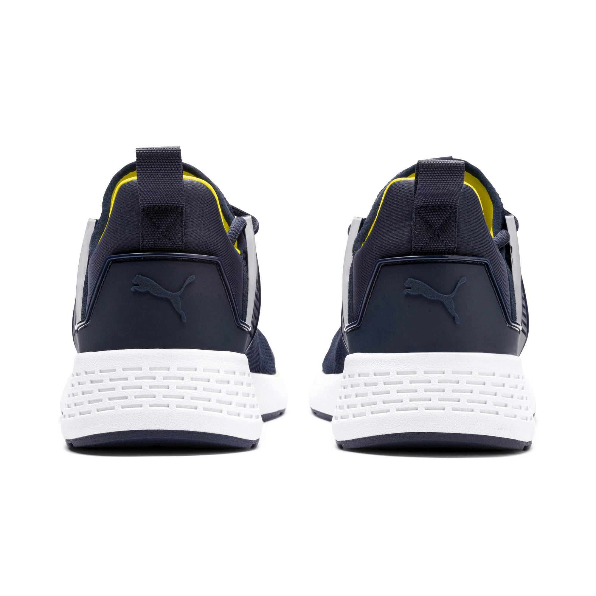 Thumbnail 2 of Insurge Mesh Sneakers, Peacoat-Blazing Yellow-White, medium-IND