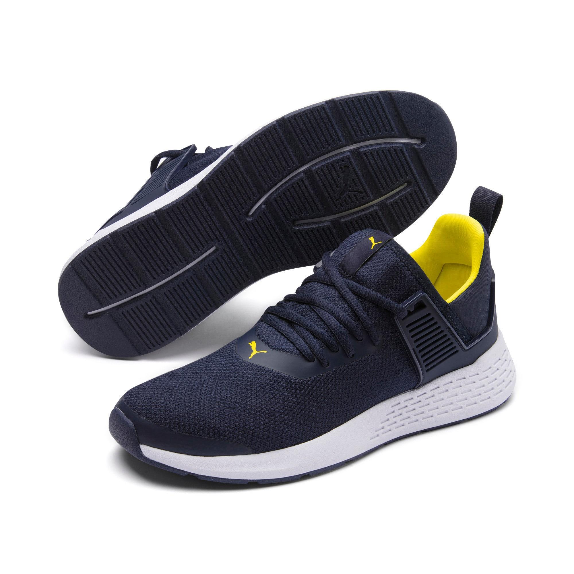 Thumbnail 3 of Insurge Mesh Sneakers, Peacoat-Blazing Yellow-White, medium-IND