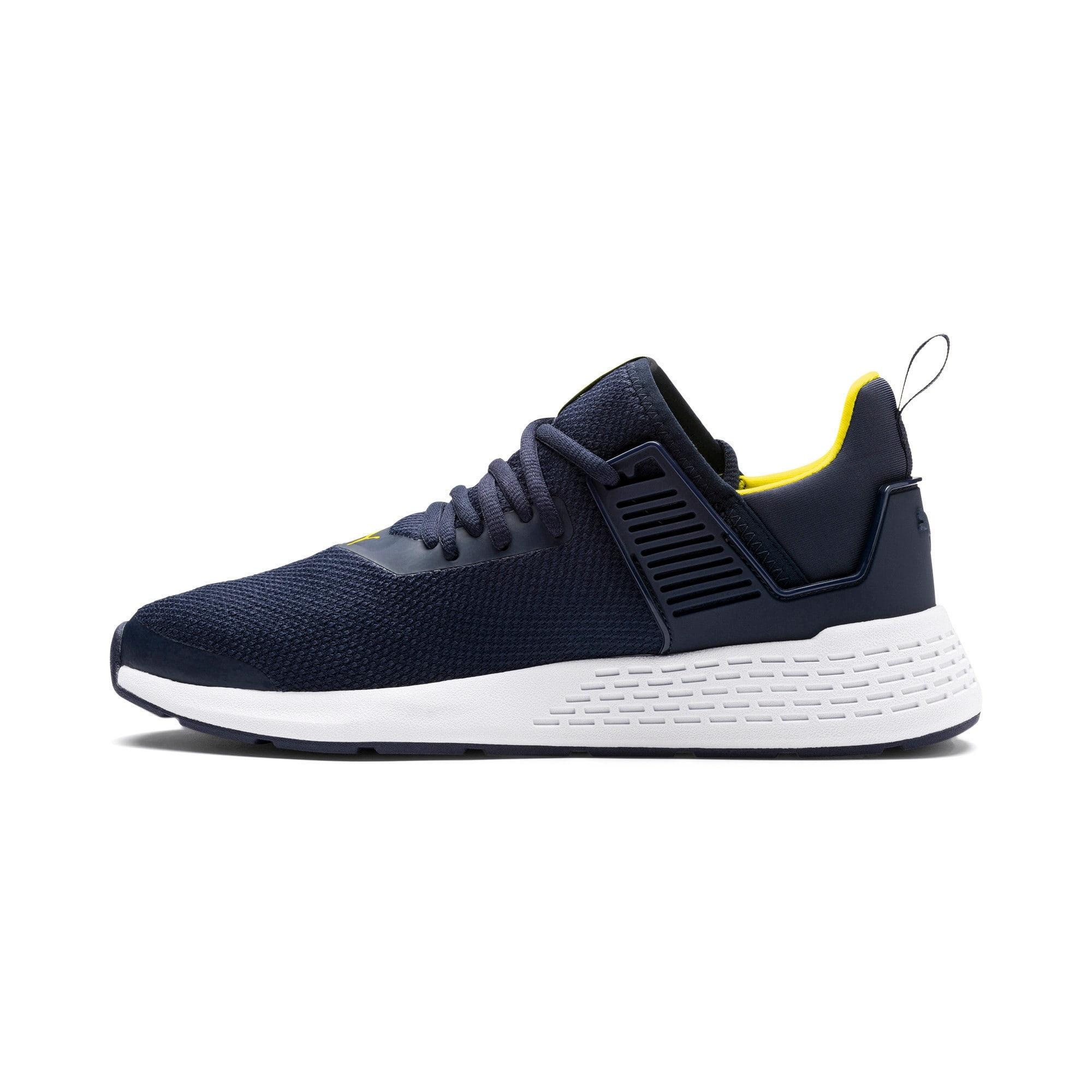 Thumbnail 1 of Insurge Mesh Sneakers, Peacoat-Blazing Yellow-White, medium-IND