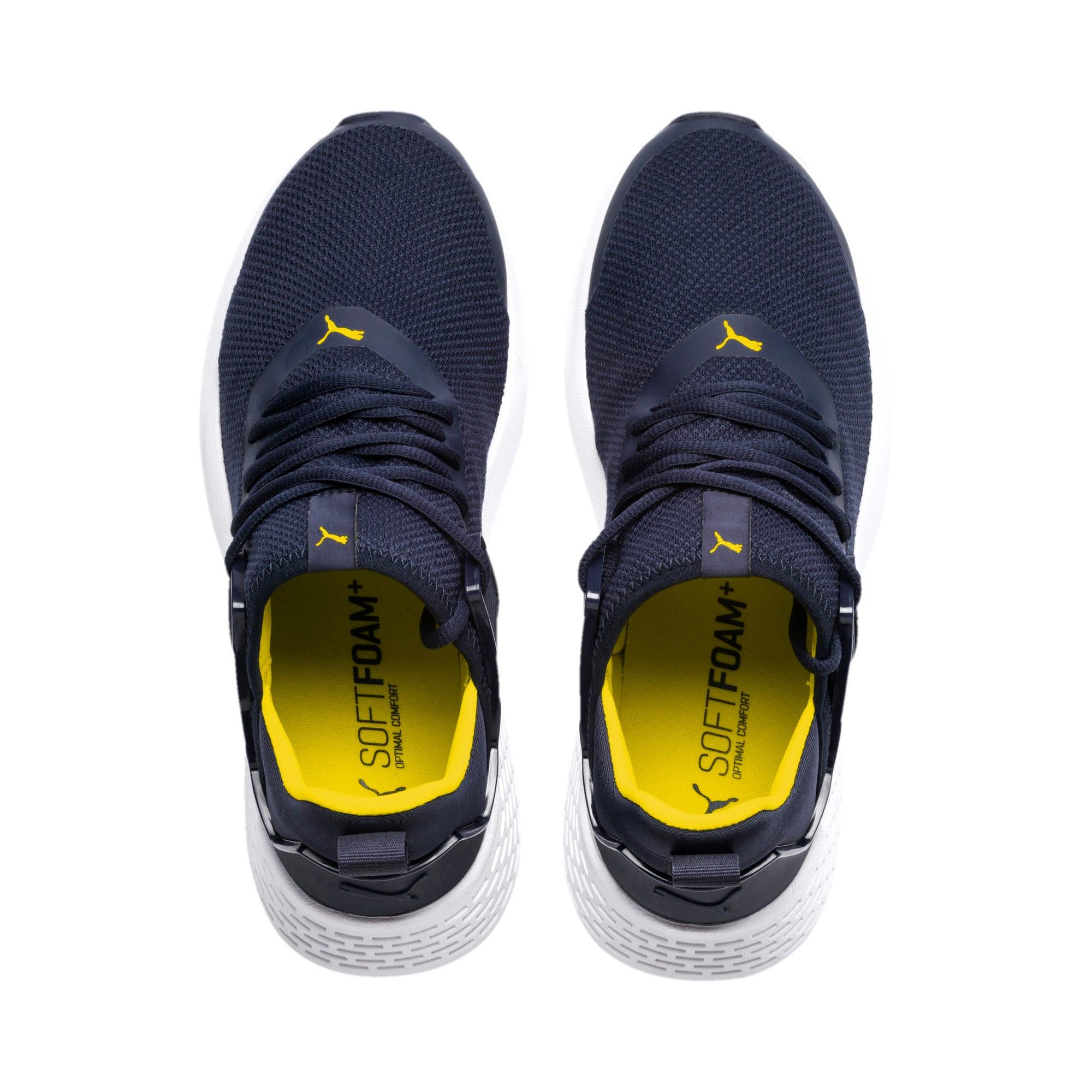 Thumbnail 6 of Insurge Mesh Sneakers, Peacoat-Blazing Yellow-White, medium-IND