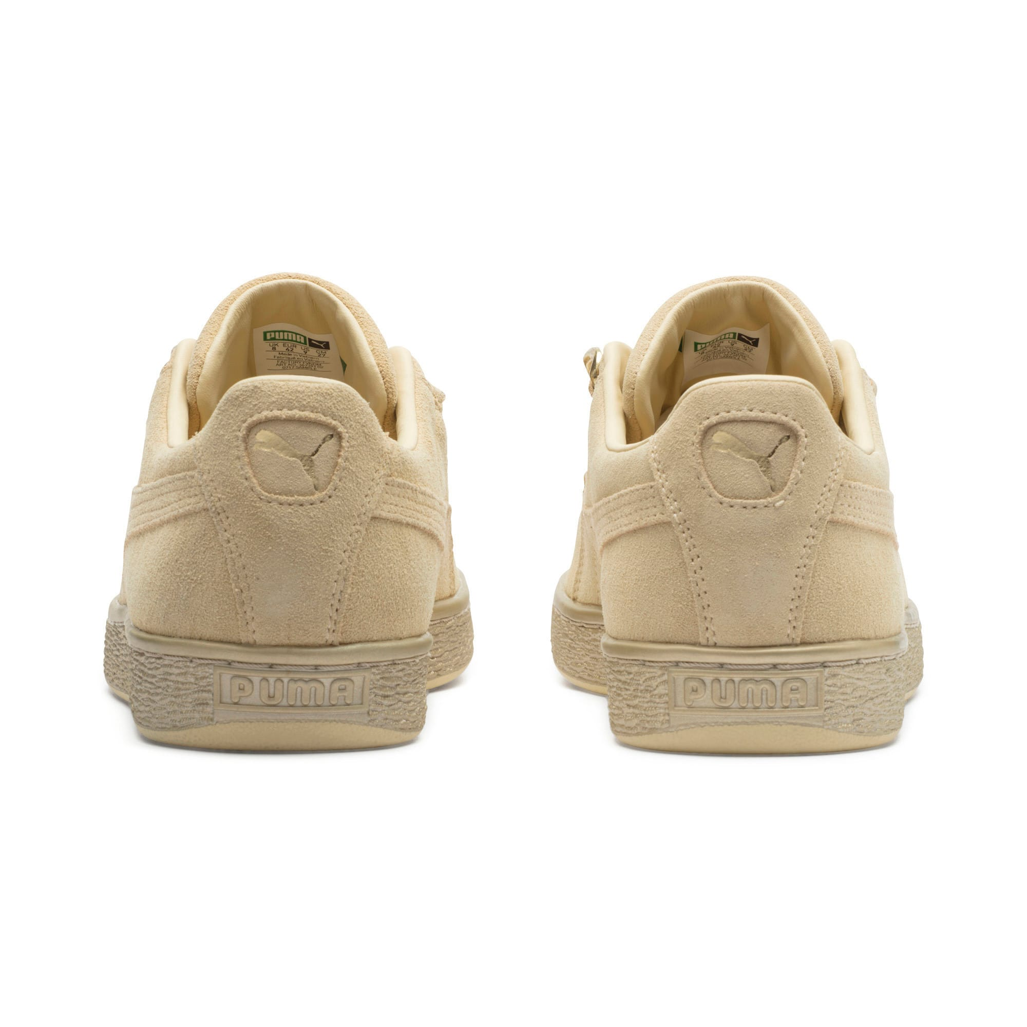 Thumbnail 3 of Suede Classic X-chains Trainers, Reed Yellow-Metallic Gold, medium-IND