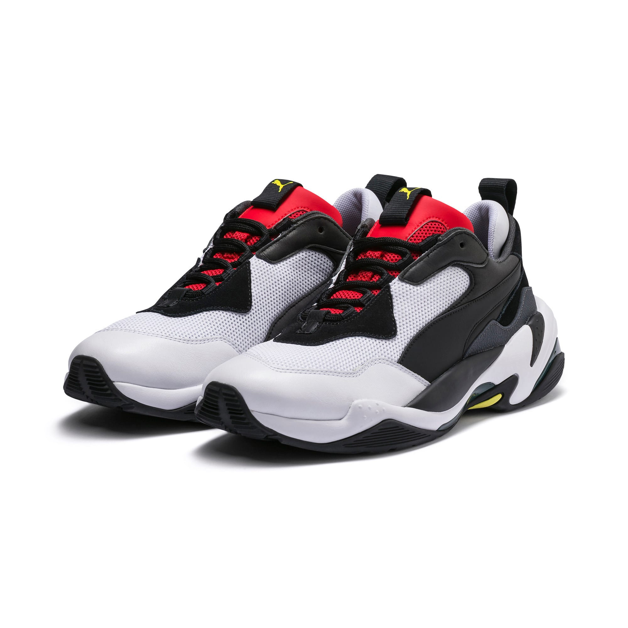 Thumbnail 2 of Thunder Spectra Trainers, Puma Black-High Risk Red, medium