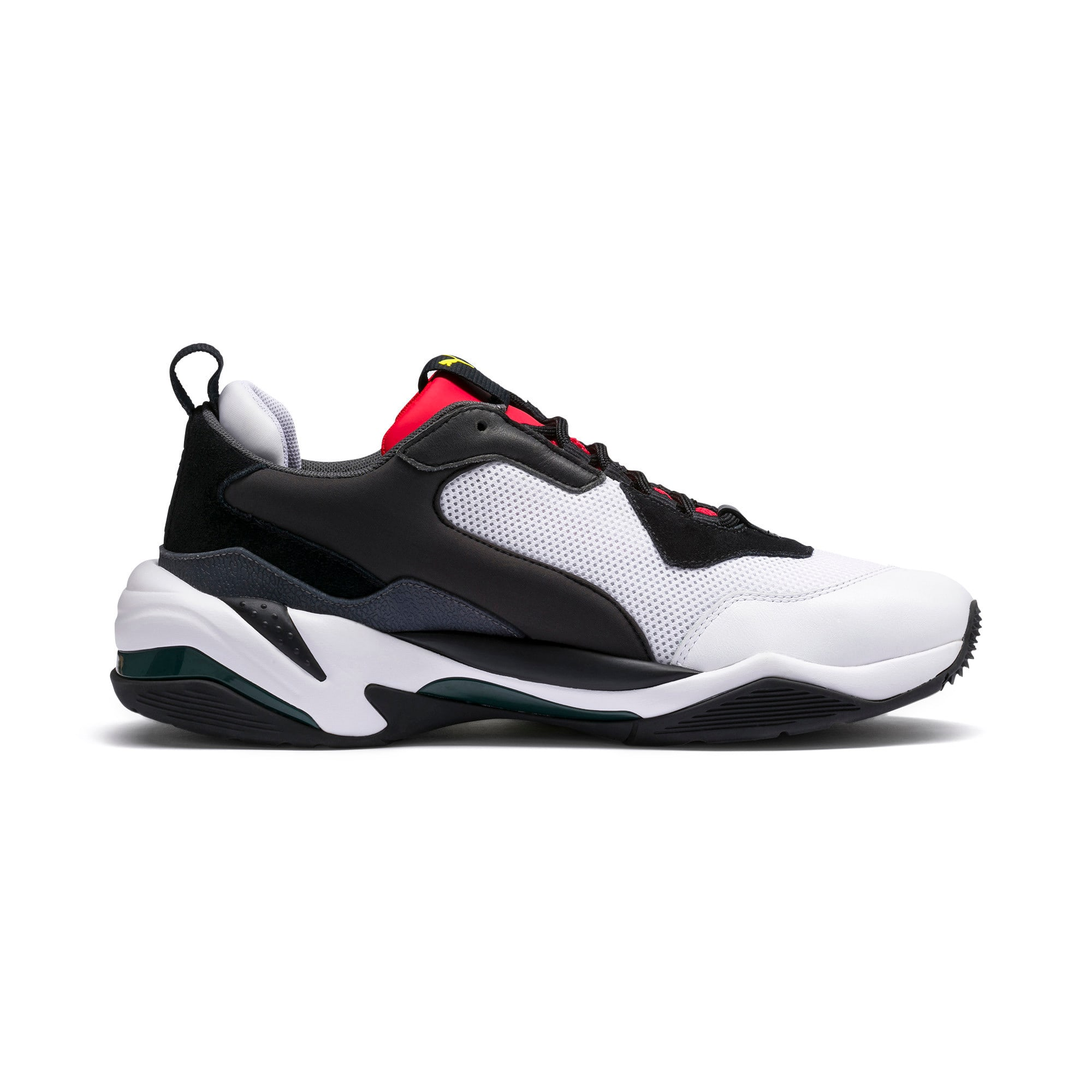 Thumbnail 5 of Thunder Spectra Trainers, Puma Black-High Risk Red, medium
