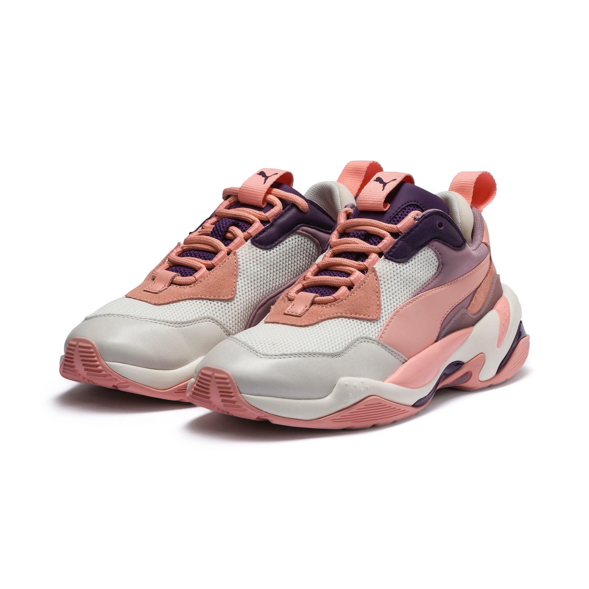 Thumbnail 2 of Thunder Spectra sneakers, Marshmallow-Peach Bud, medium