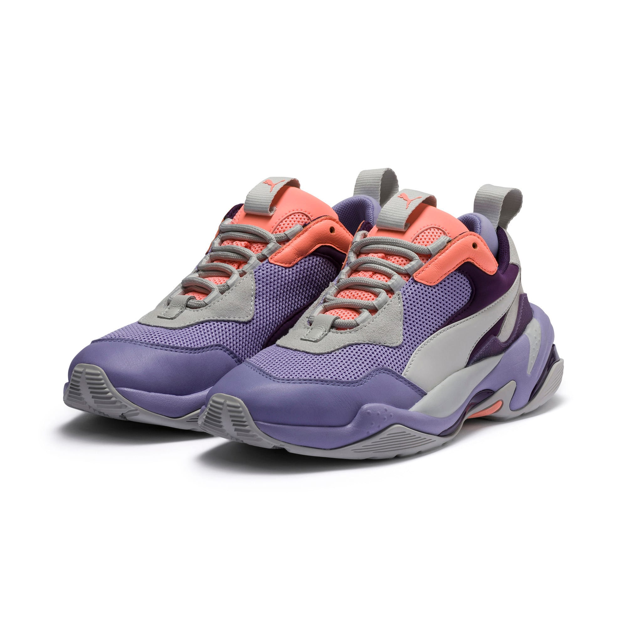 Thunder Spectra Sneaker, Sweet Lavender-Bright Peach, large