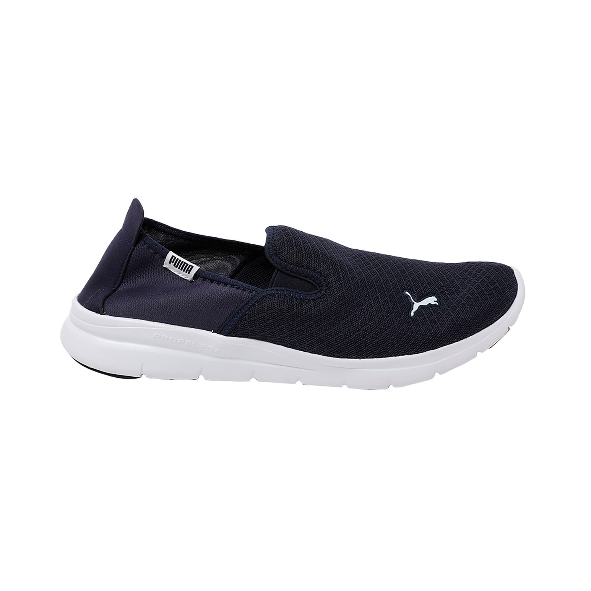 Thumbnail 5 of PUMA Flex Essential Slip On IDP Peacoat-, Peacoat-Peacoat, medium-IND