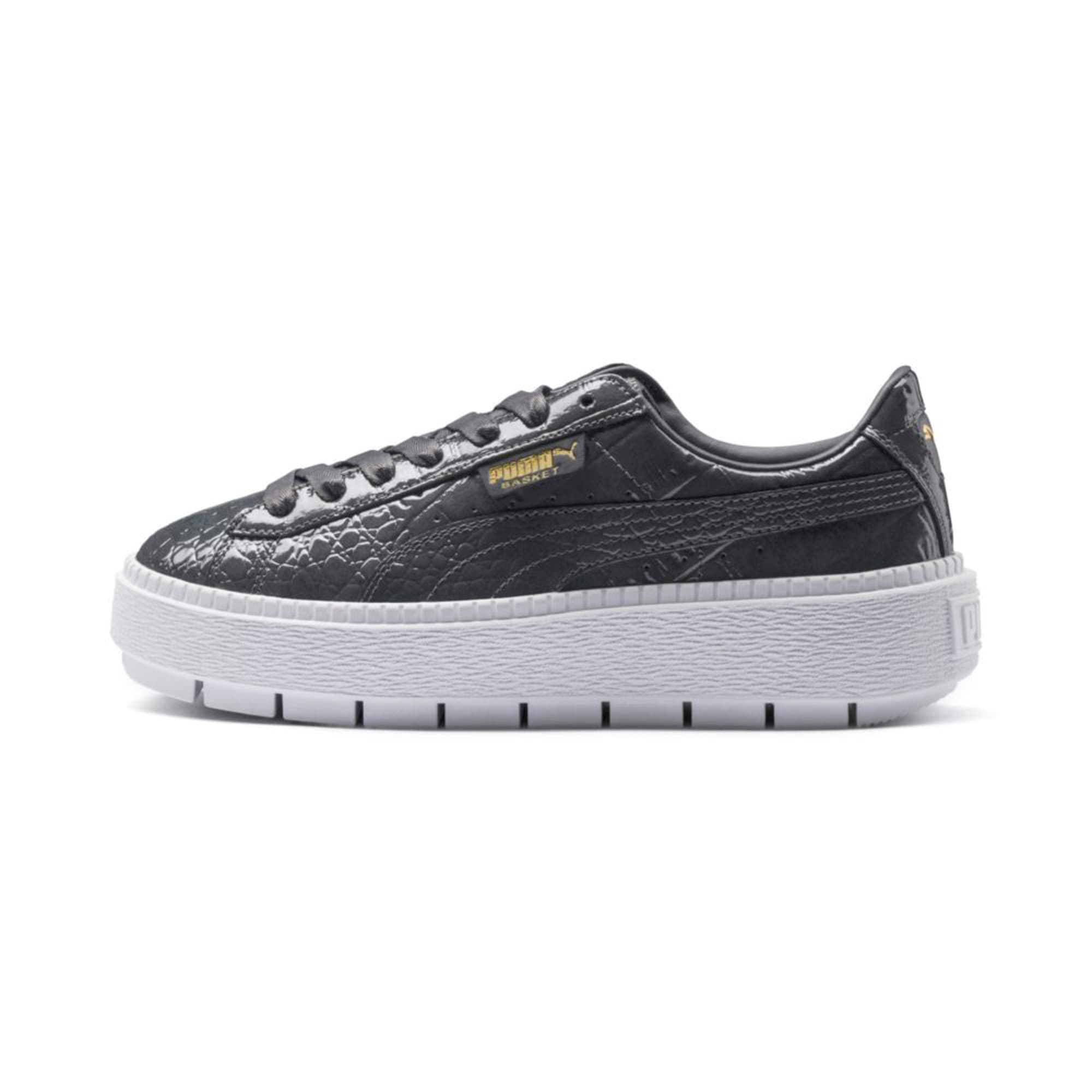 Thumbnail 1 of Platform Trace Exotic Lux Women's Trainers, Iron Gate-Iron Gate, medium-IND