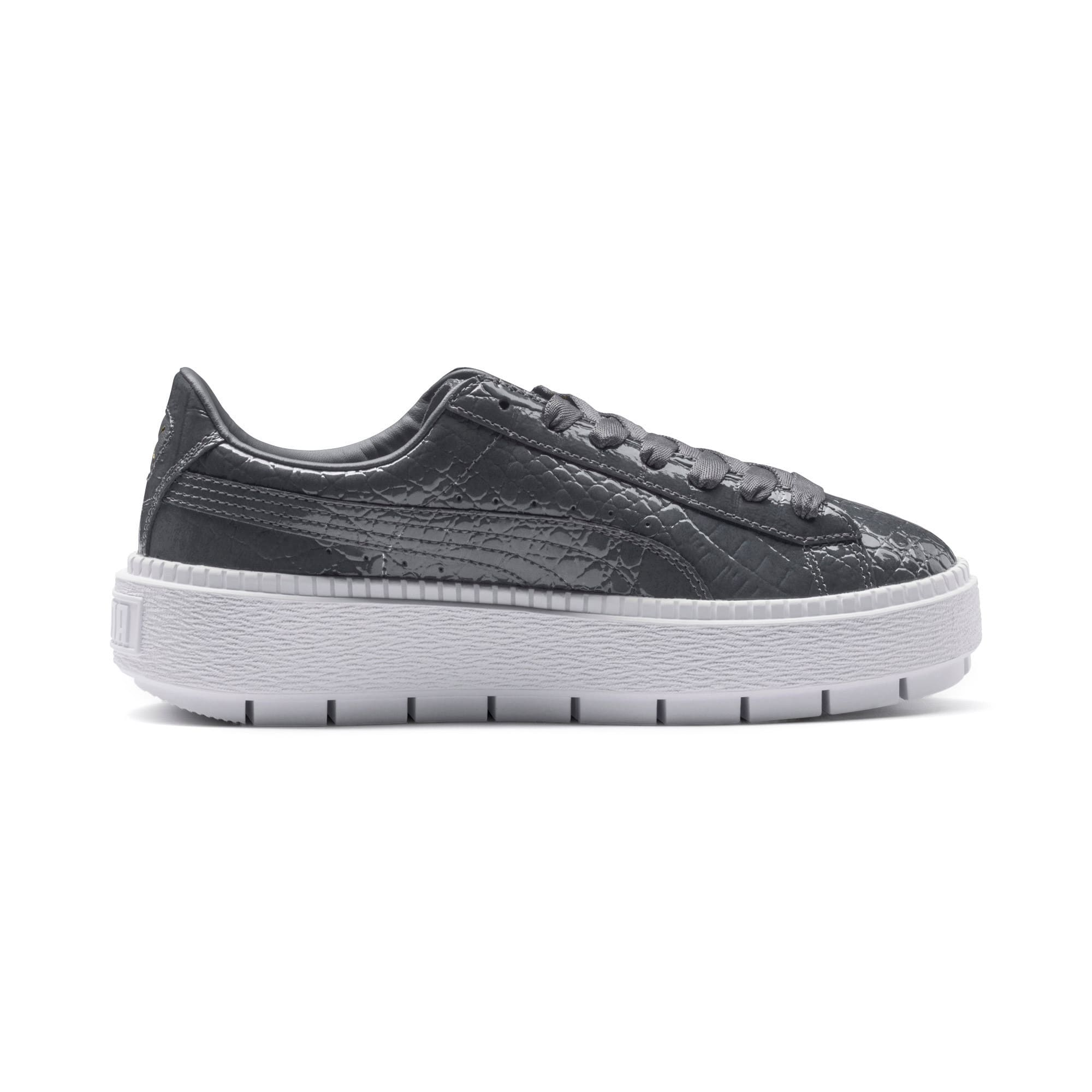 Thumbnail 5 of Platform Trace Exotic Lux Women's Trainers, Iron Gate-Iron Gate, medium-IND
