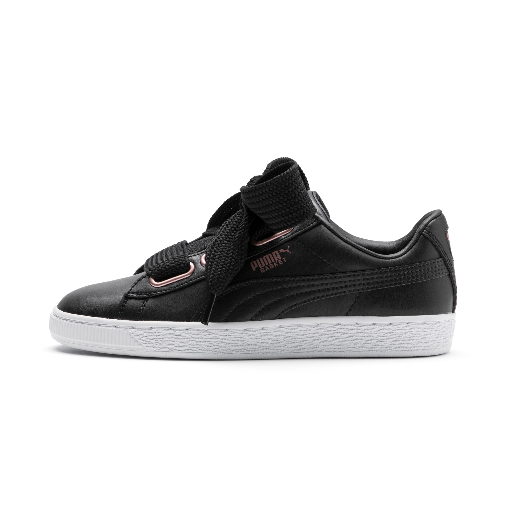 Asesor sin cable ajo  Basket Heart Leather Women's Trainers | PUMA Shoes | PUMA