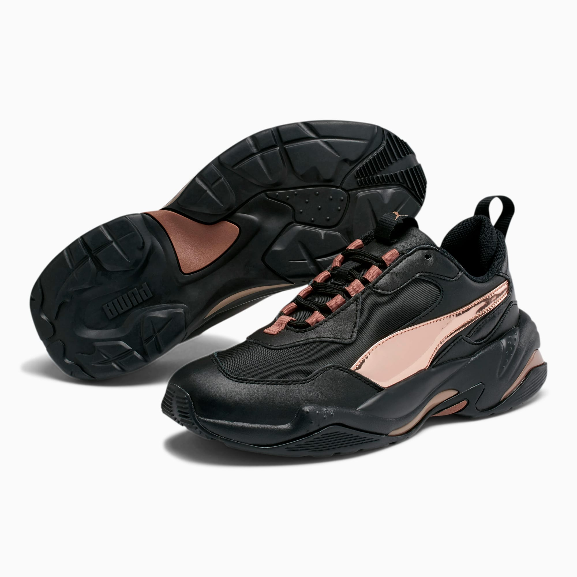 puma thunder electric womens black