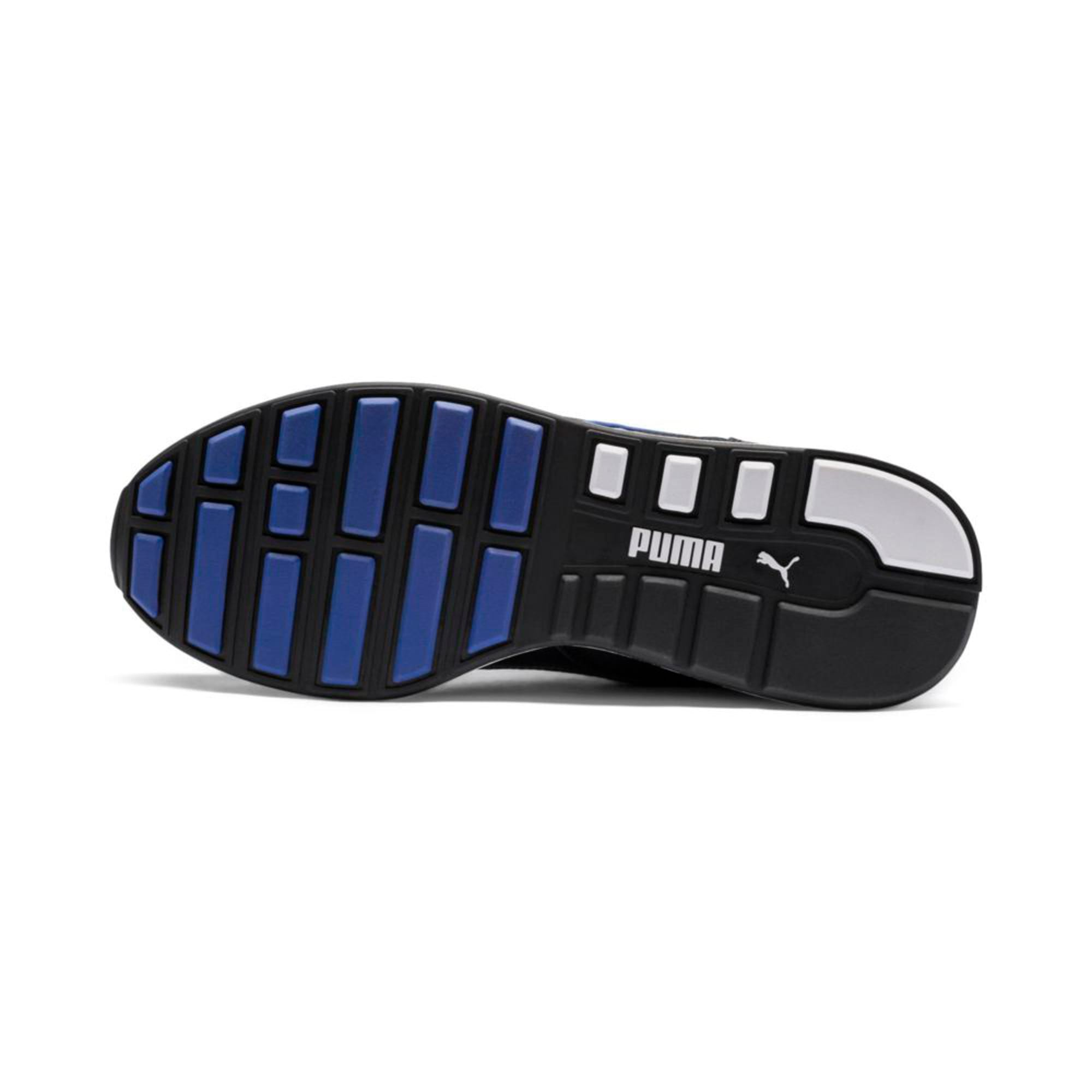 Thumbnail 2 of RS-100 SOUND Trainers, Black-Puma White-White, medium-IND