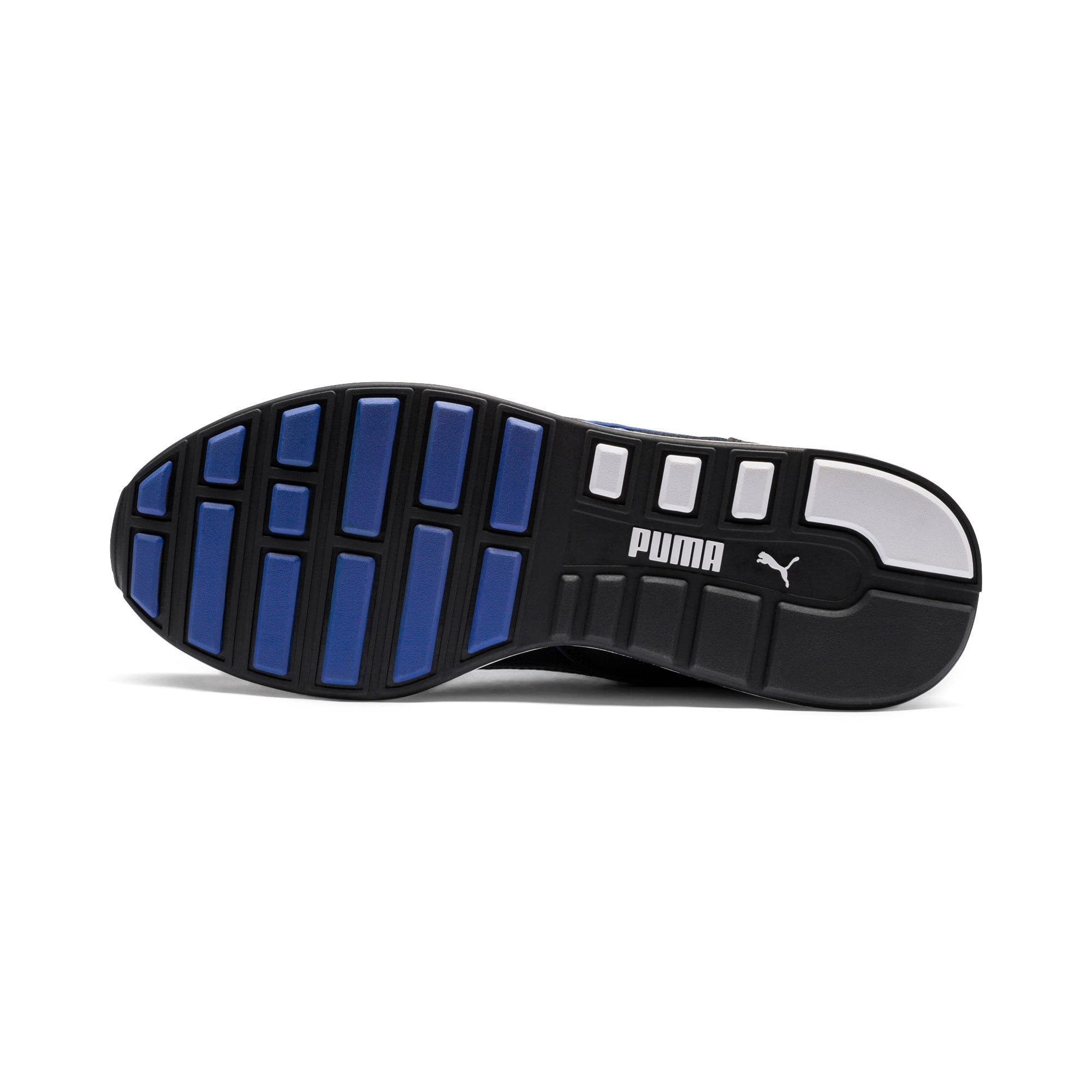 Thumbnail 4 of RS-100 SOUND Trainers, Black-Puma White-White, medium-IND