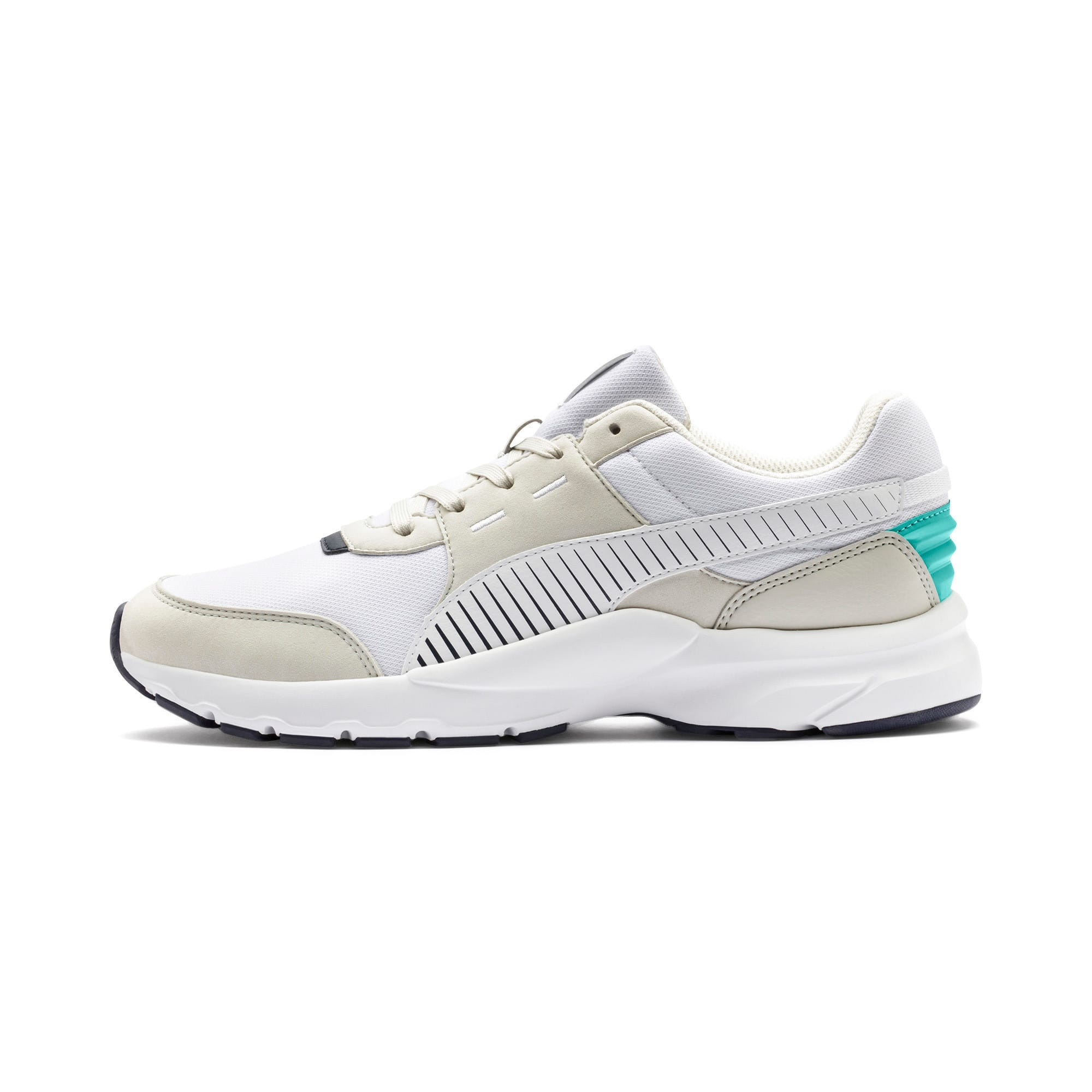 Thumbnail 1 of Future Runner Running Shoes, Wht-G Gray-Peacoat-Turquoise, medium