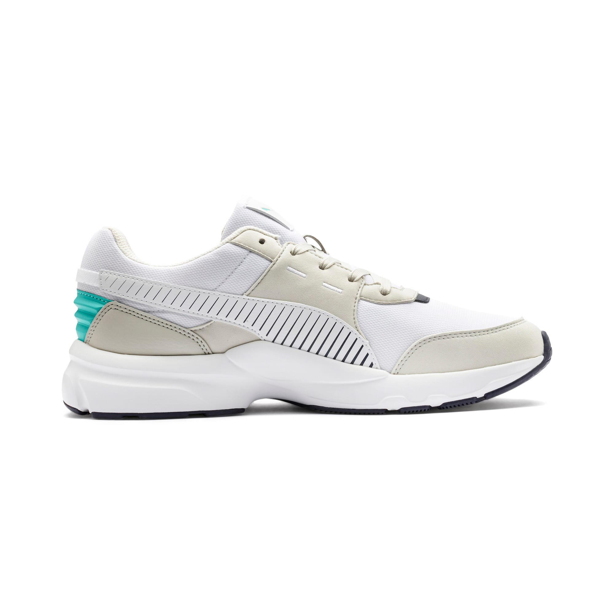 Thumbnail 6 of Future Runner Running Shoes, Wht-G Gray-Peacoat-Turquoise, medium