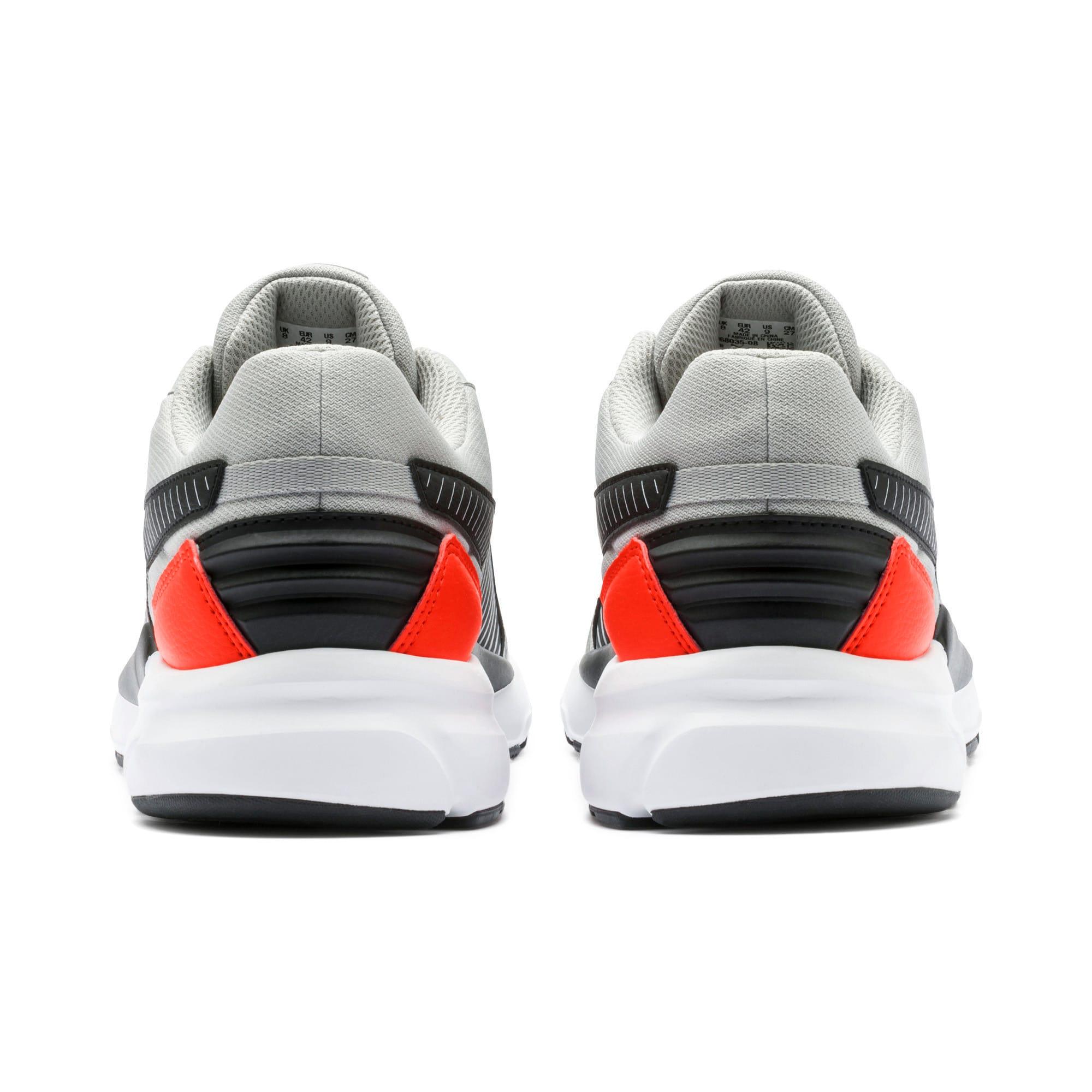 Thumbnail 6 of Future Runner Running Shoes, High Rise-Black-C Tomato-Wht, medium-IND