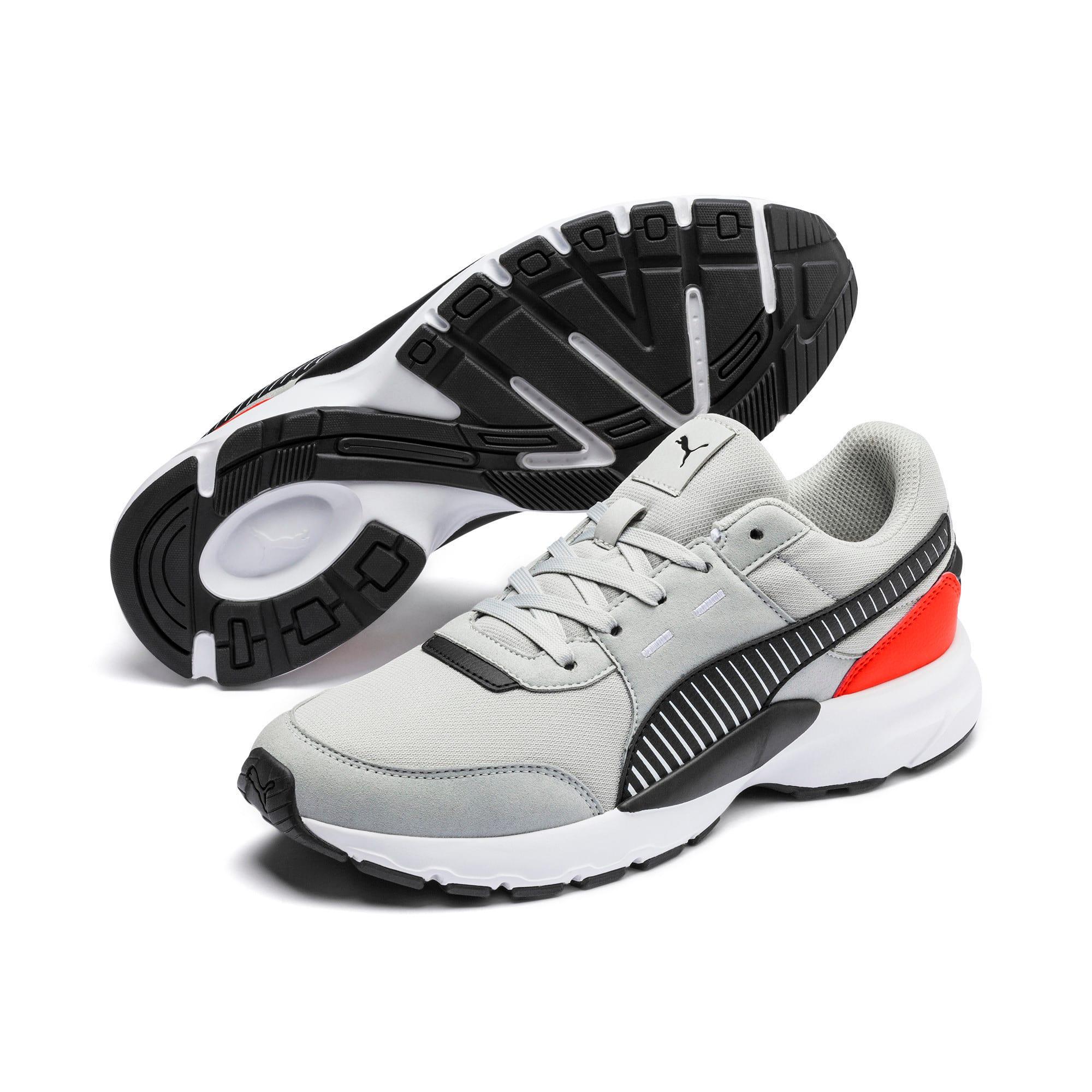 Thumbnail 8 of Future Runner Running Shoes, High Rise-Black-C Tomato-Wht, medium-IND