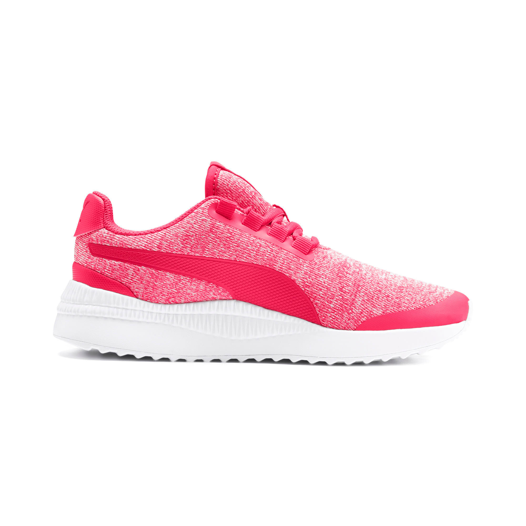 Thumbnail 5 of Pacer Next FS Knit Kinder Sneaker, Nrgy Rose-Puma White, medium