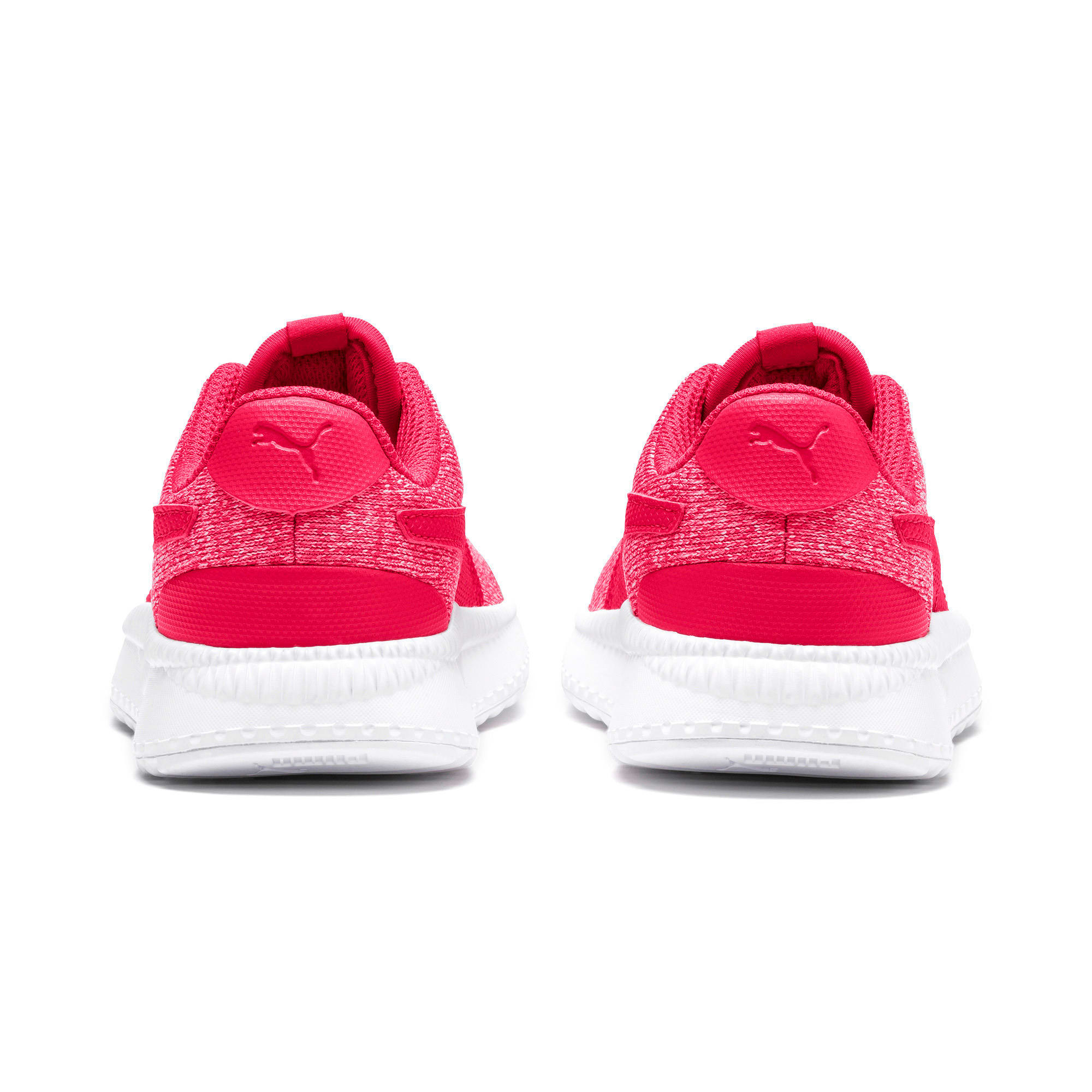Thumbnail 3 of Pacer Next FS Knit AC Kids Sneaker, Nrgy Rose-Puma White, medium