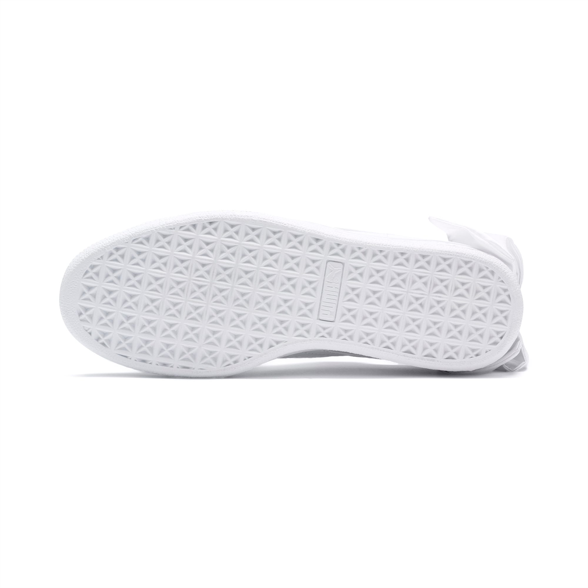 PUMA Basket Bow Patent Baby Mädchen Sneaker Puma White