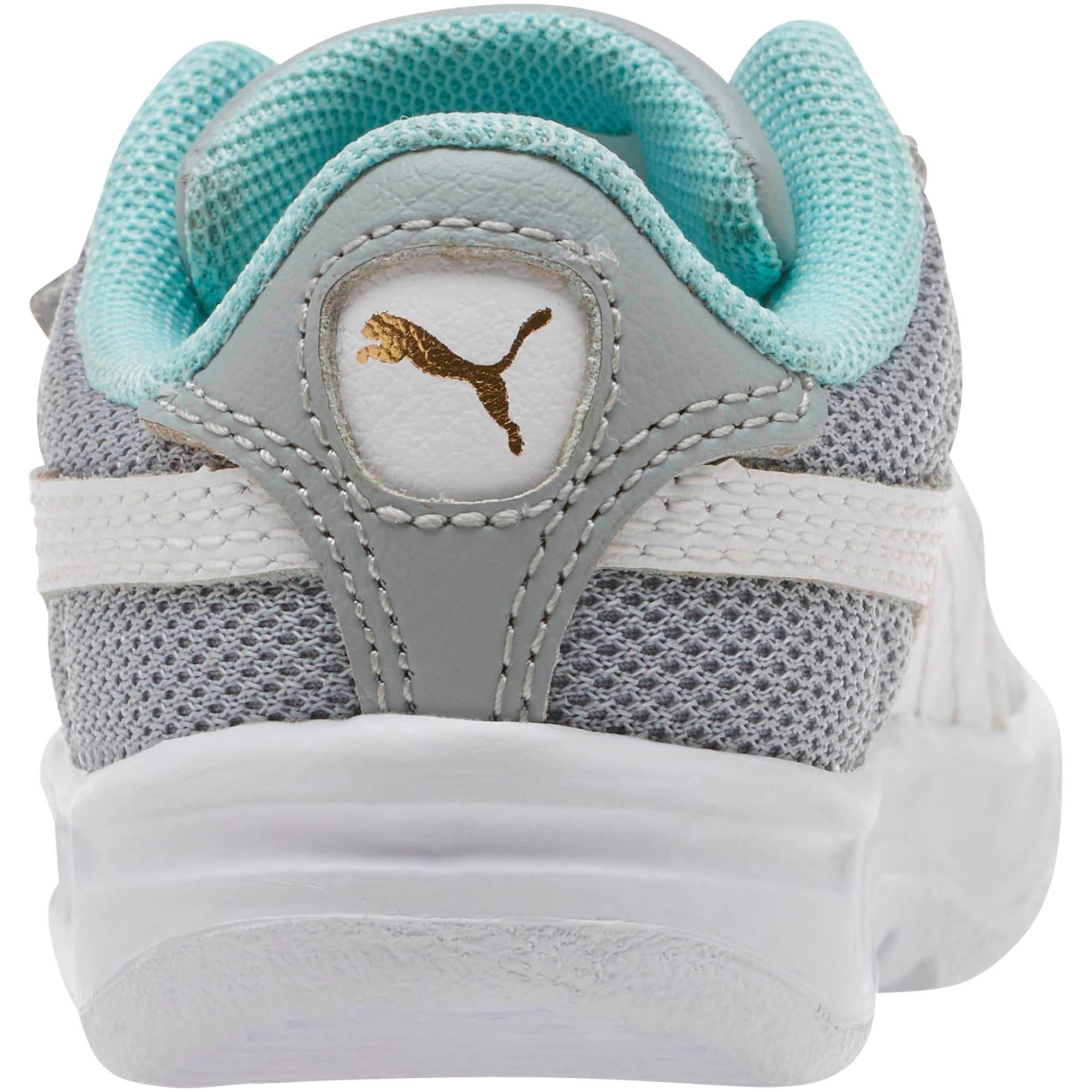 Thumbnail 4 of California Casual Toddler Shoes, Quarry-Puma White-Gold, medium