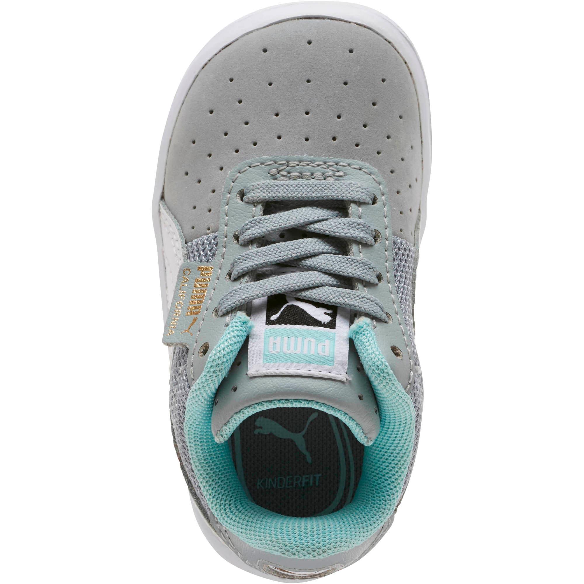 Thumbnail 5 of California Casual Toddler Shoes, Quarry-Puma White-Gold, medium