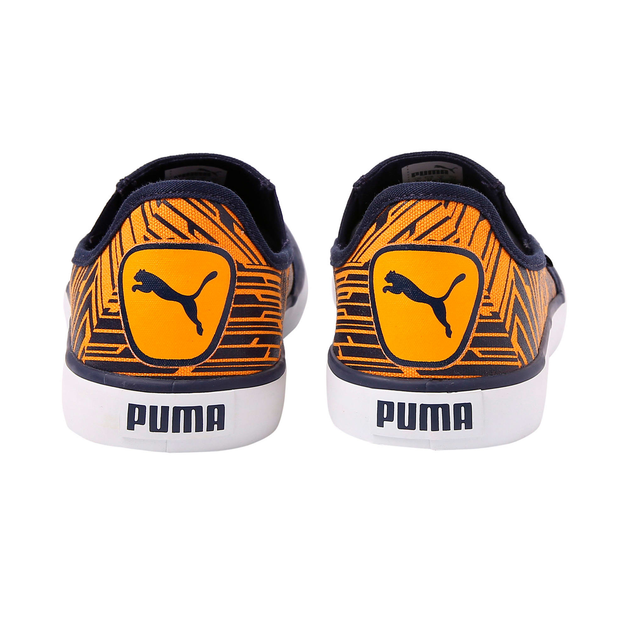 Thumbnail 3 of Apollo Slip on Graphic 2 IDP, Peacoat-Zinnia-Puma White, medium-IND