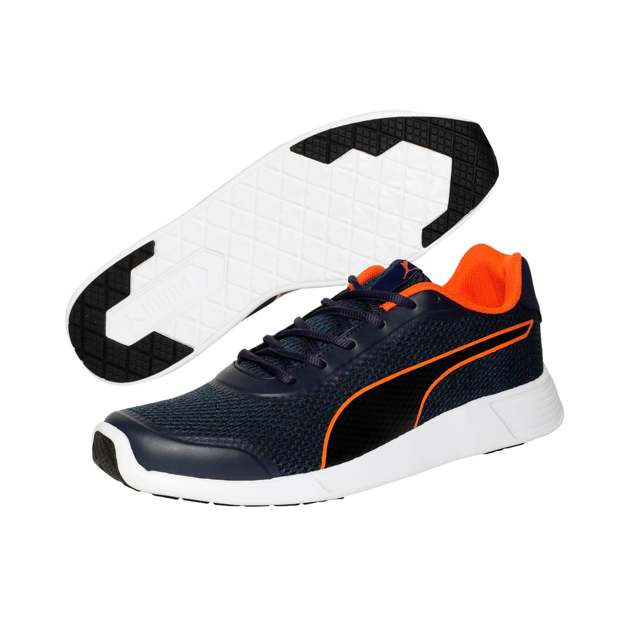 Thumbnail 2 of FST Runner v2 IDP Men's Sportstyle Shoes, Peacoat-Firecracker-Black, medium-IND
