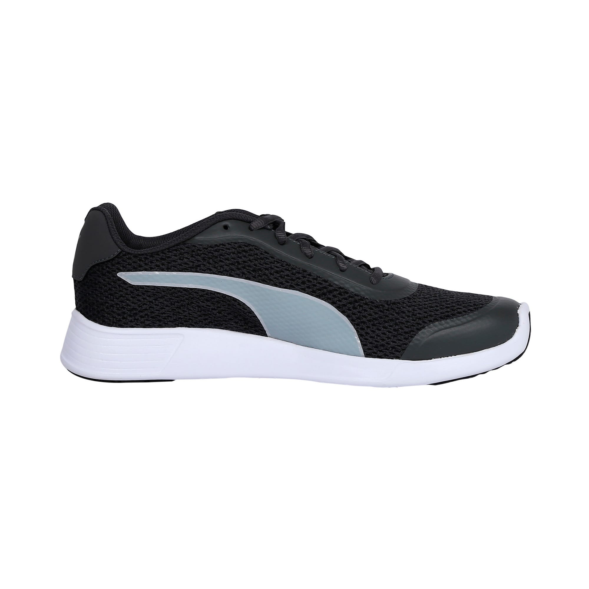 Thumbnail 5 of FST Runner v2 IDP Men's Sportstyle Shoes, Puma White-Quarry-Puma Black, medium-IND