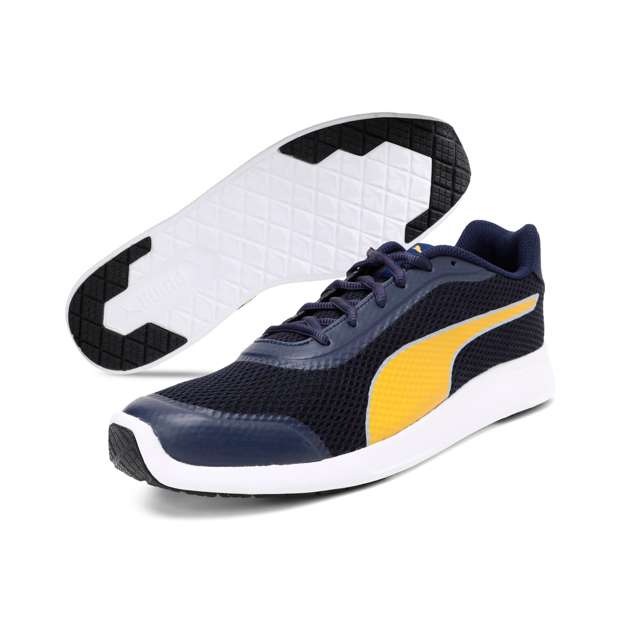 Thumbnail 2 of FST Runner v2 IDP Men's Sportstyle Shoes, Dark Shadow-Silver-Quarry, medium-IND