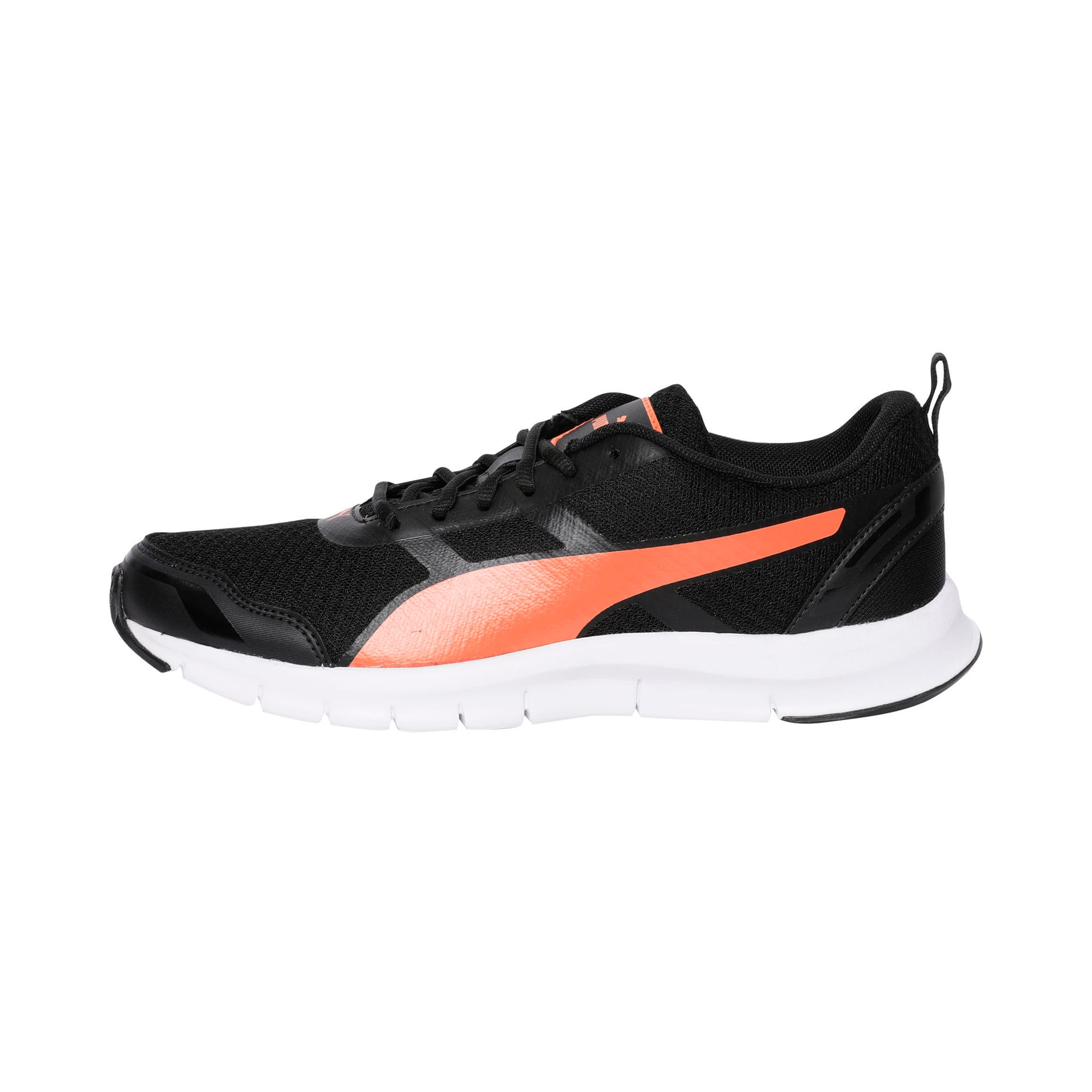 Thumbnail 1 of Track V2 IDP Puma Black-Limepunch-Puma W, Puma Black-Vibrant Orange, medium-IND