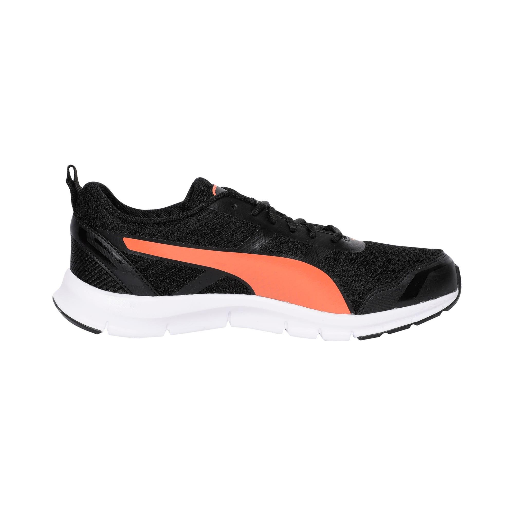 Thumbnail 5 of Track V2 IDP Puma Black-Limepunch-Puma W, Puma Black-Vibrant Orange, medium-IND