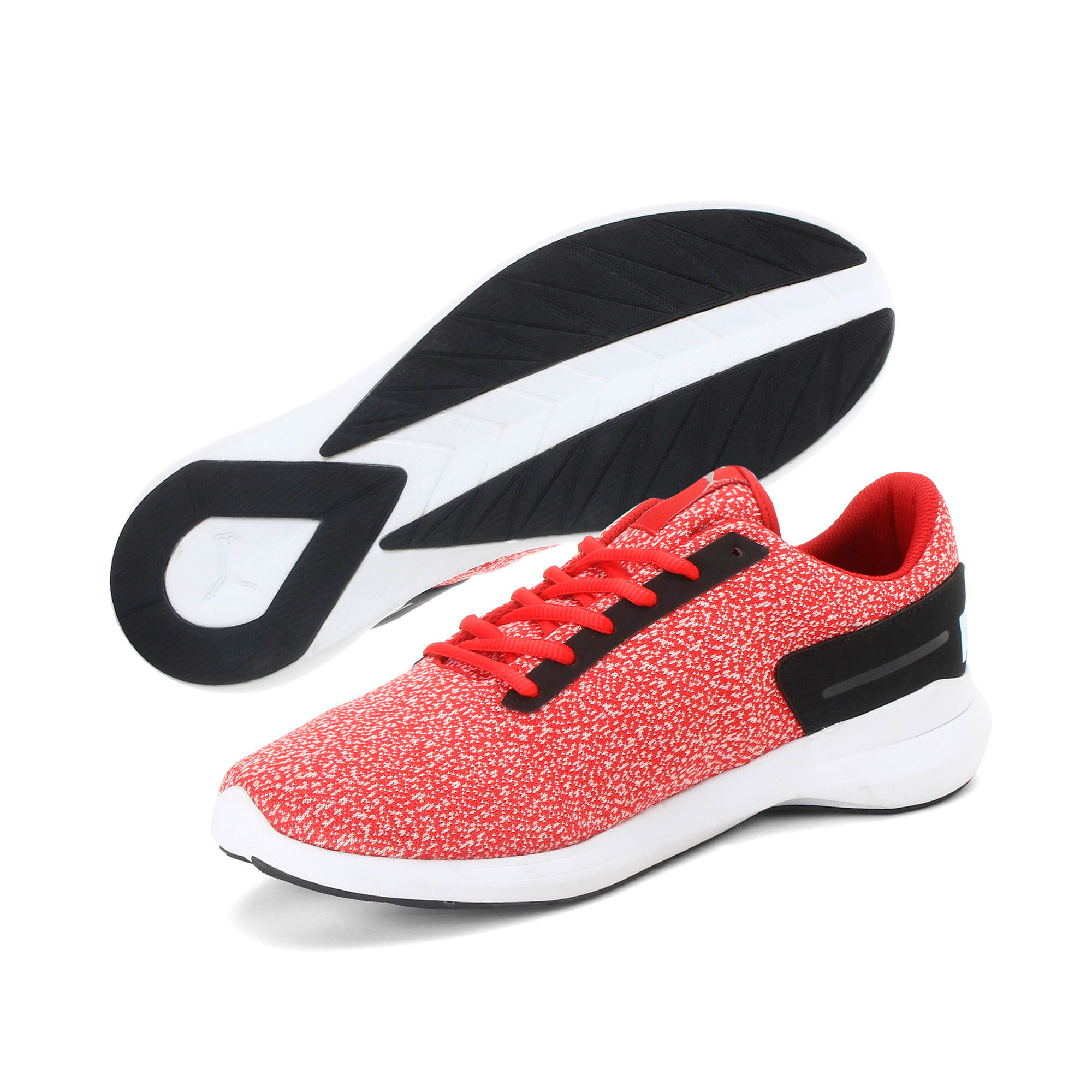 Thumbnail 2 of Pacer EL IDP Men's Sportstyle Shoes, Ribbon Red-Black- White, medium-IND