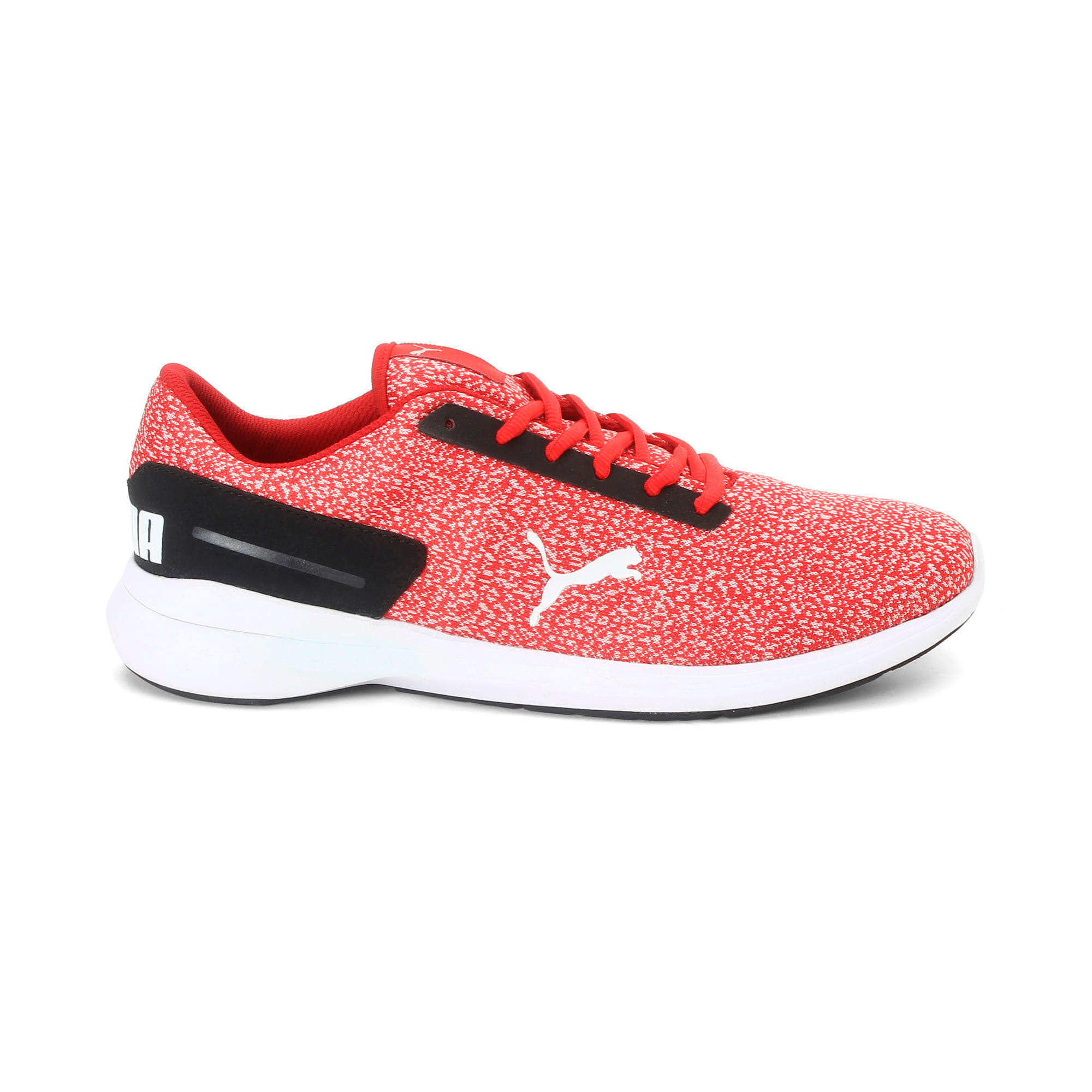 Thumbnail 4 of Pacer EL IDP Men's Sportstyle Shoes, Ribbon Red-Black- White, medium-IND