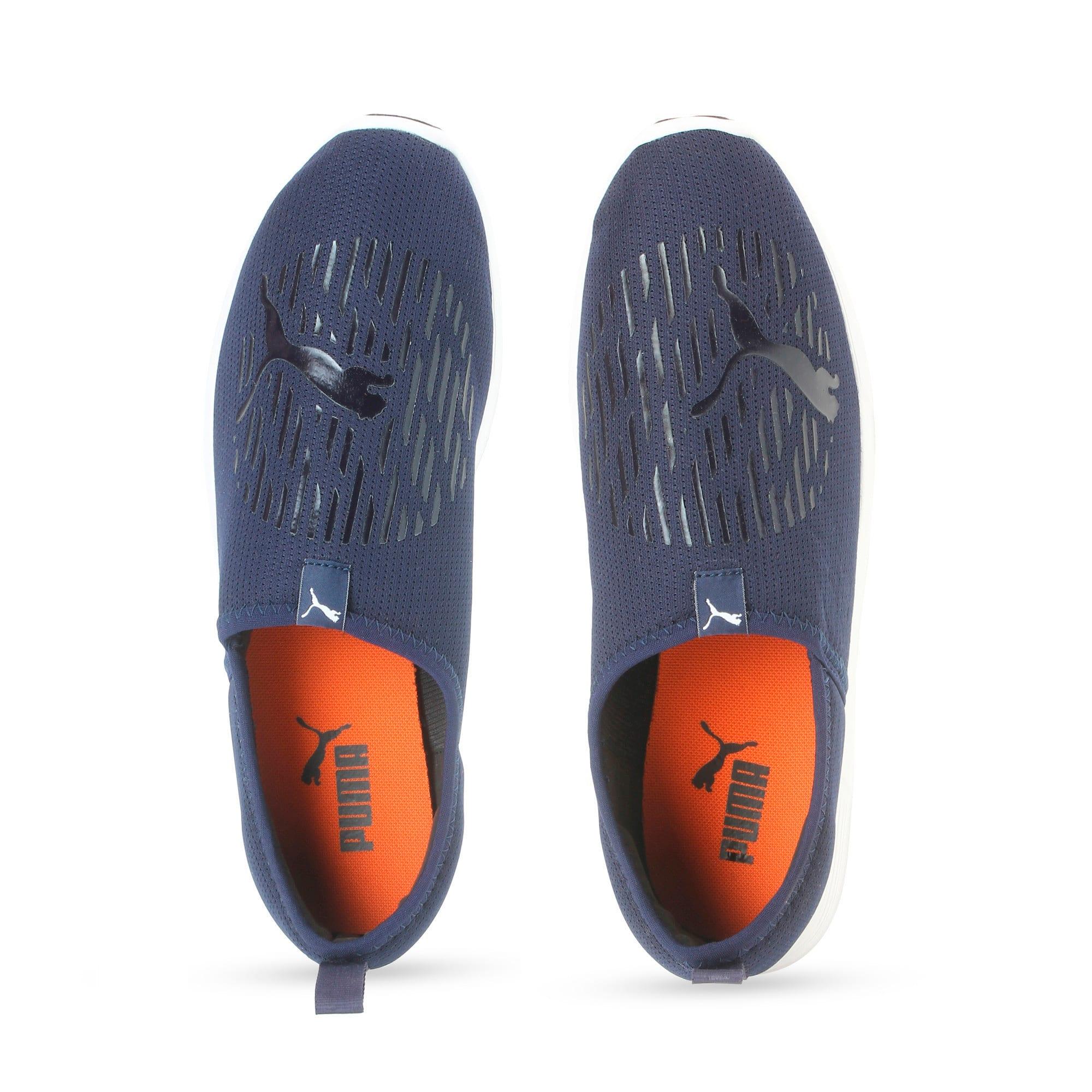 Thumbnail 6 of ST Comfort IDP Men's Sportstyle Shoes, Peacoat-Puma White, medium-IND