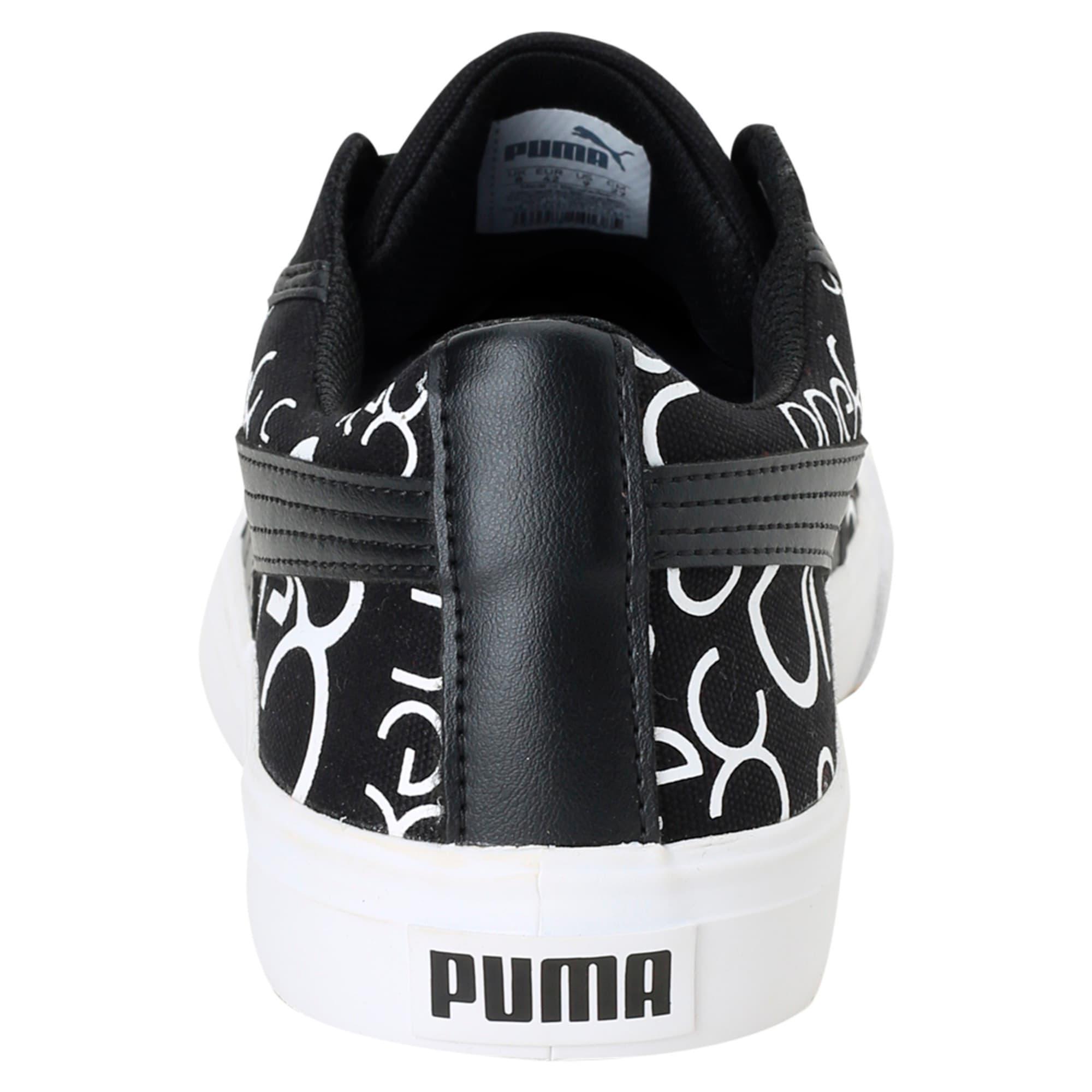 Thumbnail 4 of one8 Men's Sneakers, Black-White-Pomegranate, medium-IND