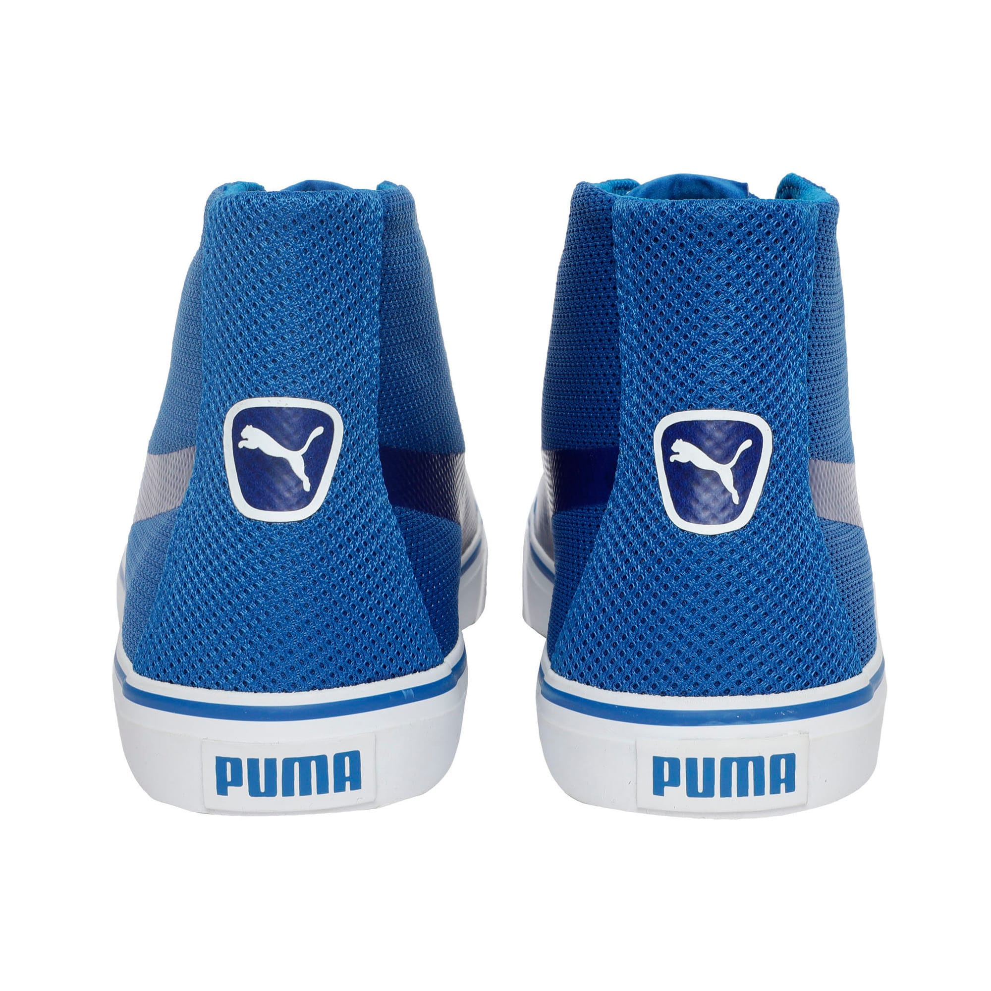 Troop Mid Knit IDP, Royal Blue-Puma White, large-IND