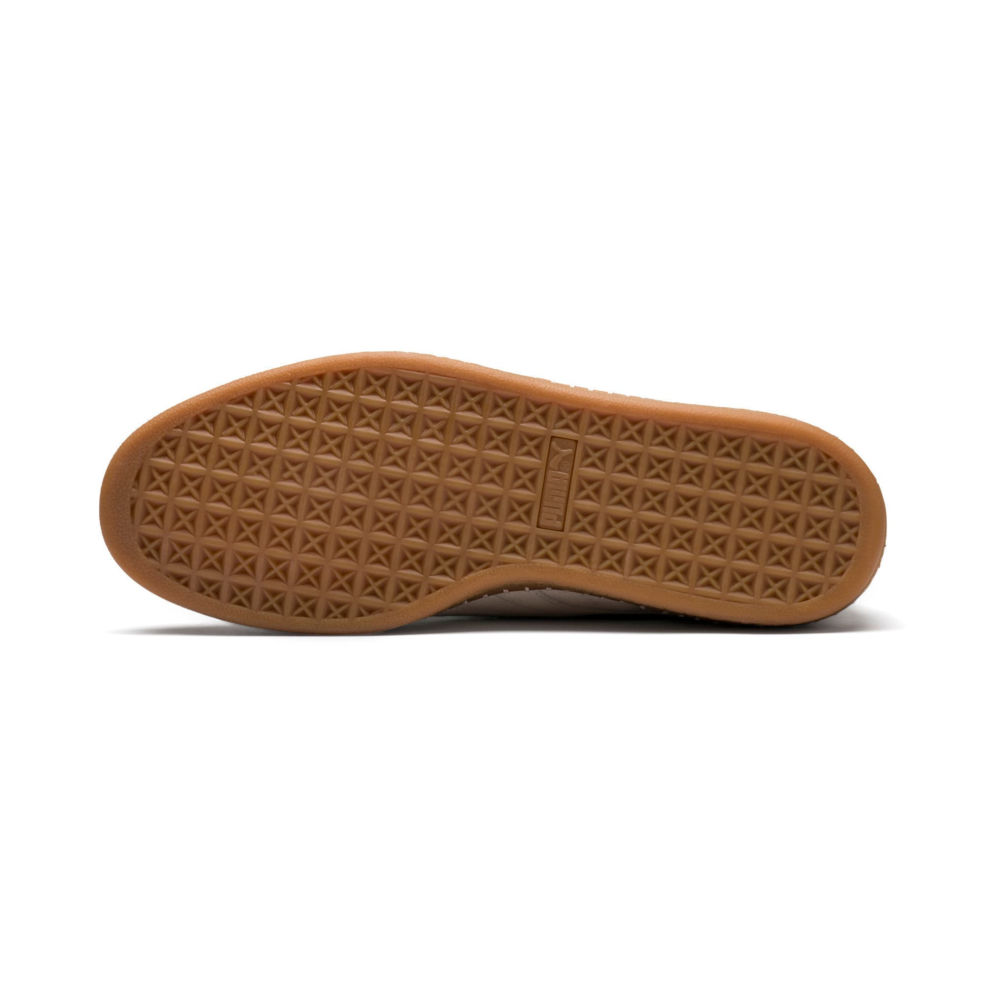 Thumbnail 5 of Suede Classic Blanket Stitch Trainers, Whisper White-Gum, medium-IND